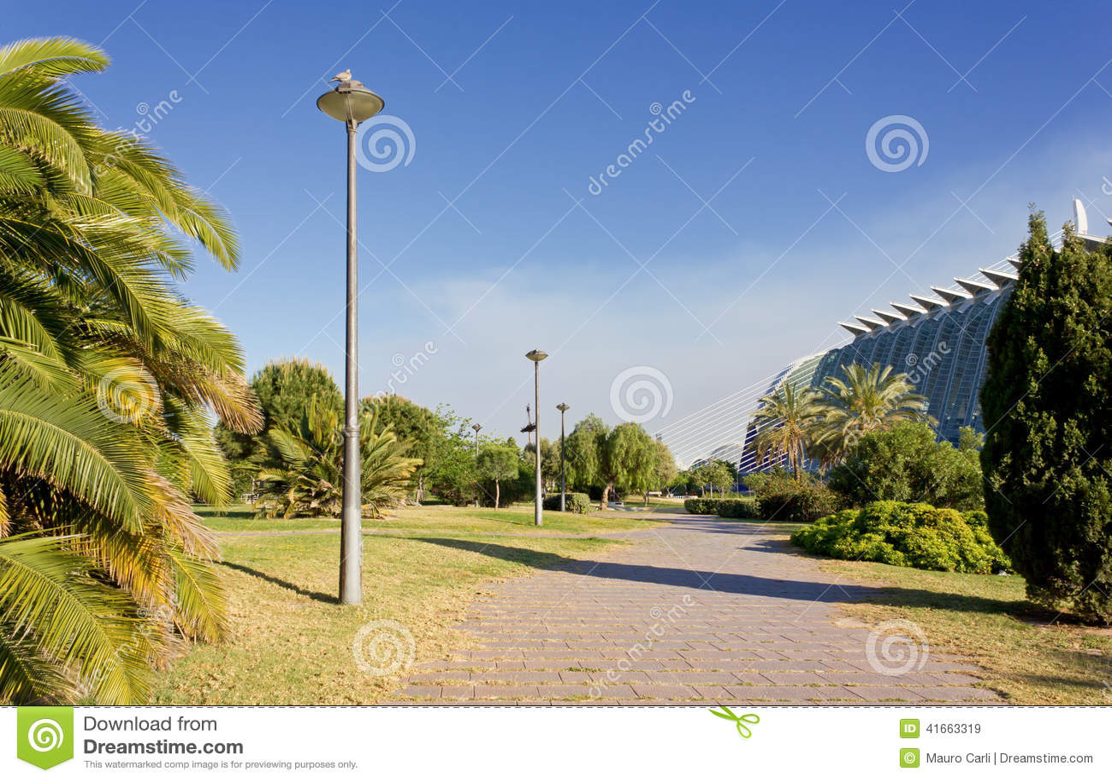 Парк города в Валенсии