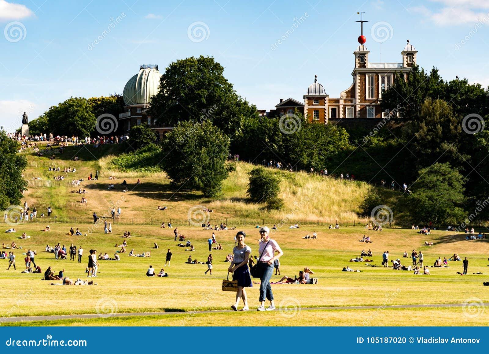 Парк Гринвича в Лондоне