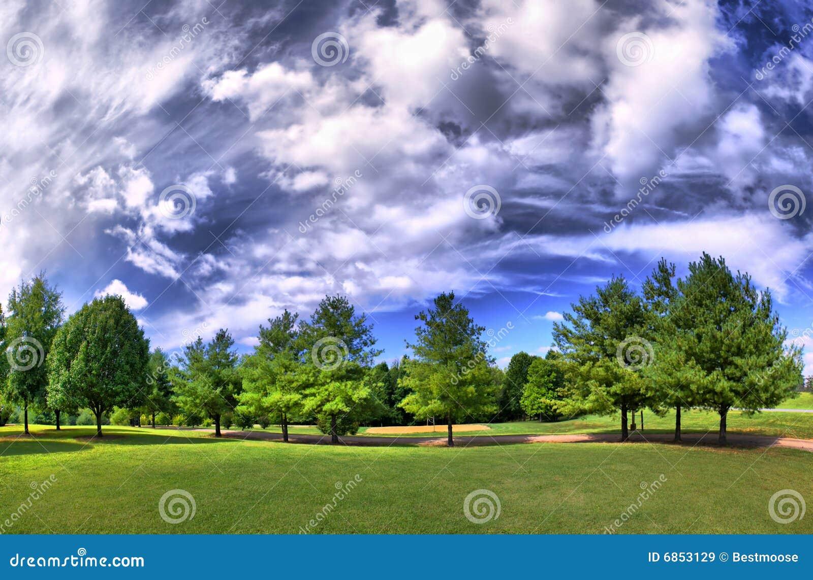 парк панорамы hdri