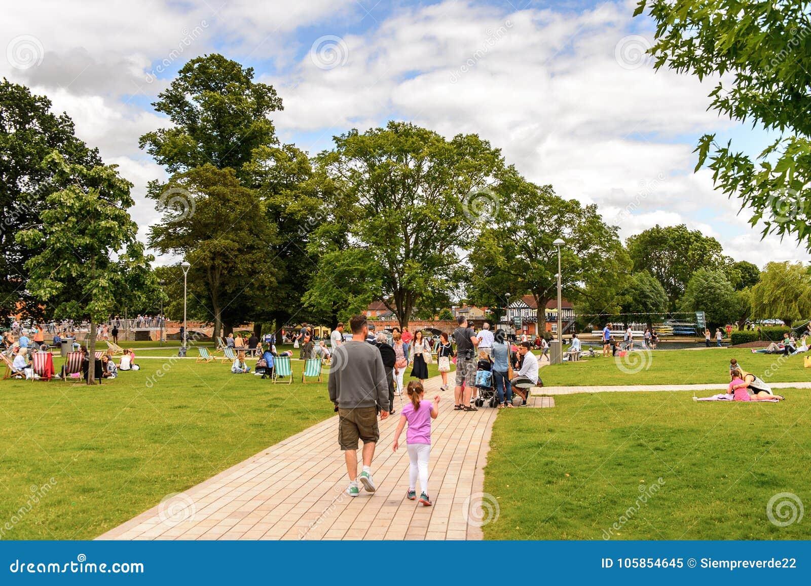 Парк Стратфорда на Эвоне, Англия, Великобритания