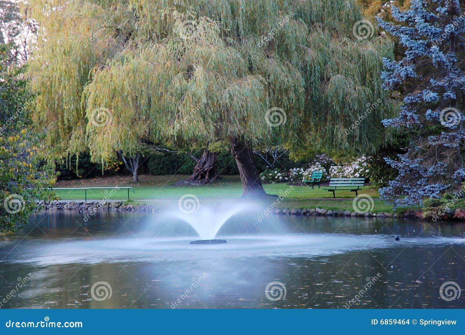 парк фонтана