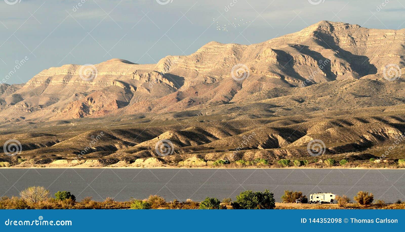 Парк штата озера Butte слона в Неш-Мексико