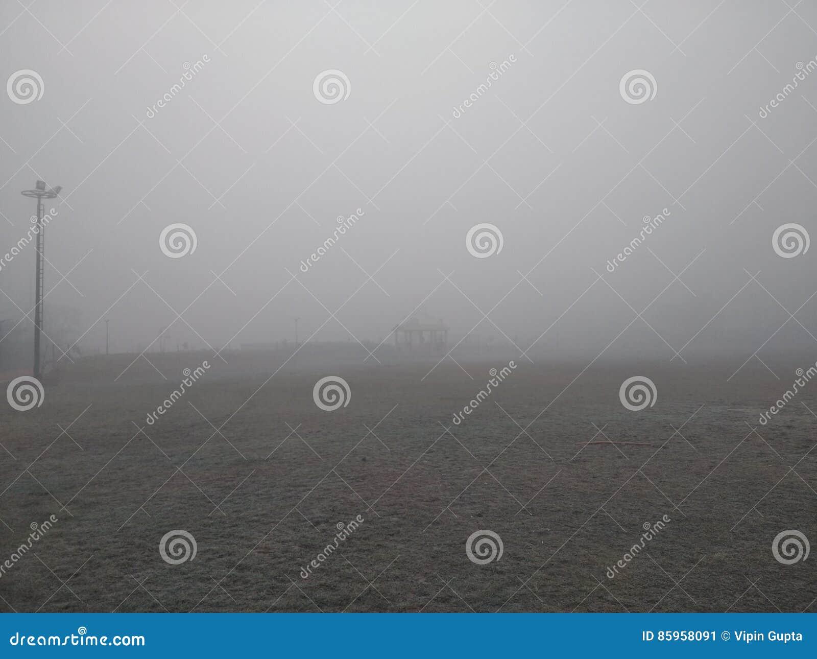 ПАРК ЭНЕРГИИ, туманный день