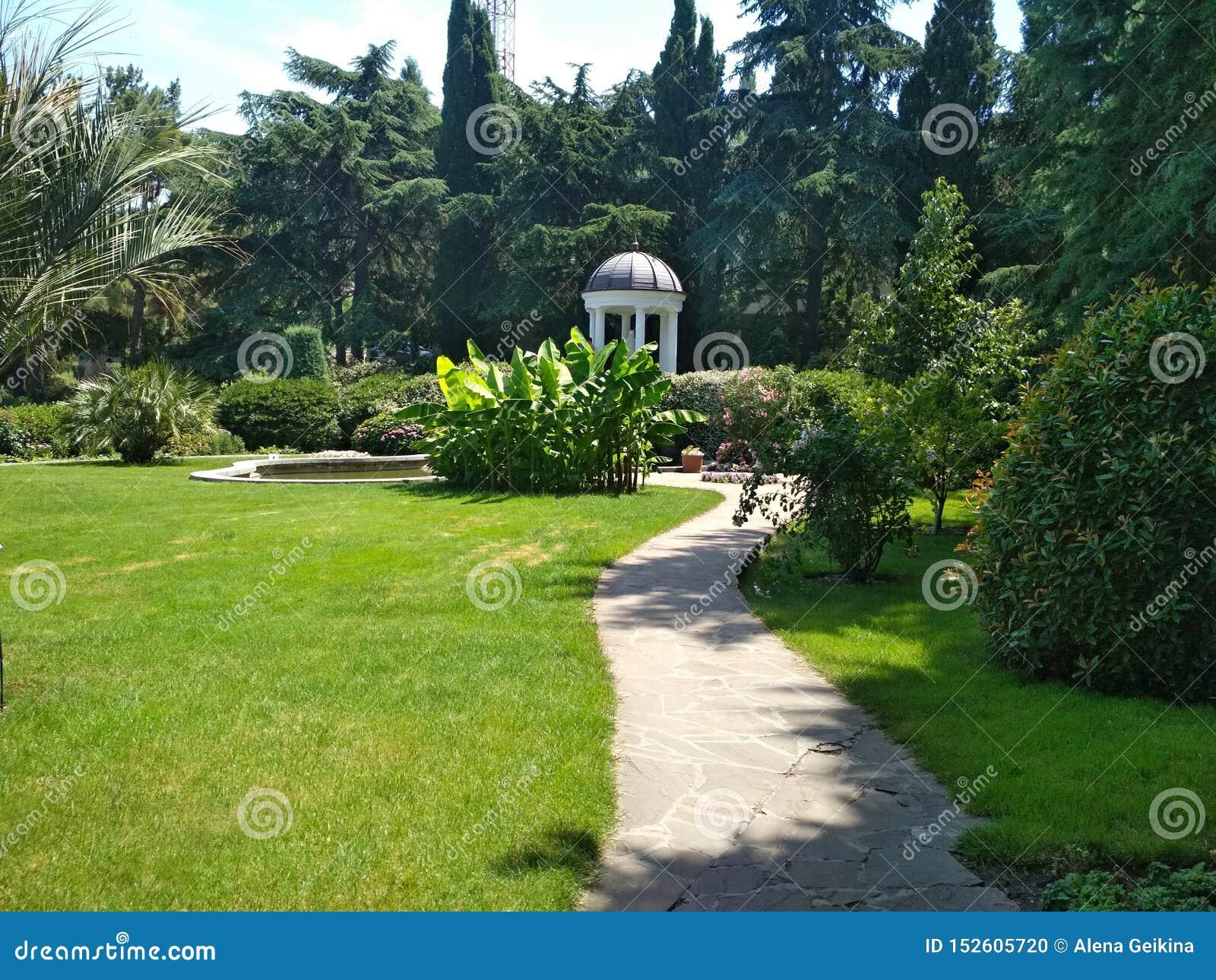 Парк Aivazovsky в Крыме