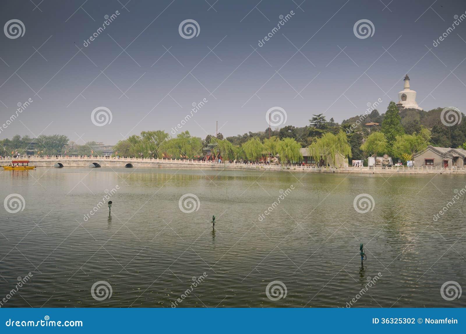 Парк Beihai, Пекин