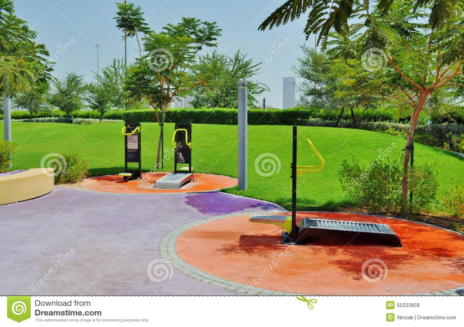 Парк Delma - характеристики спортзала