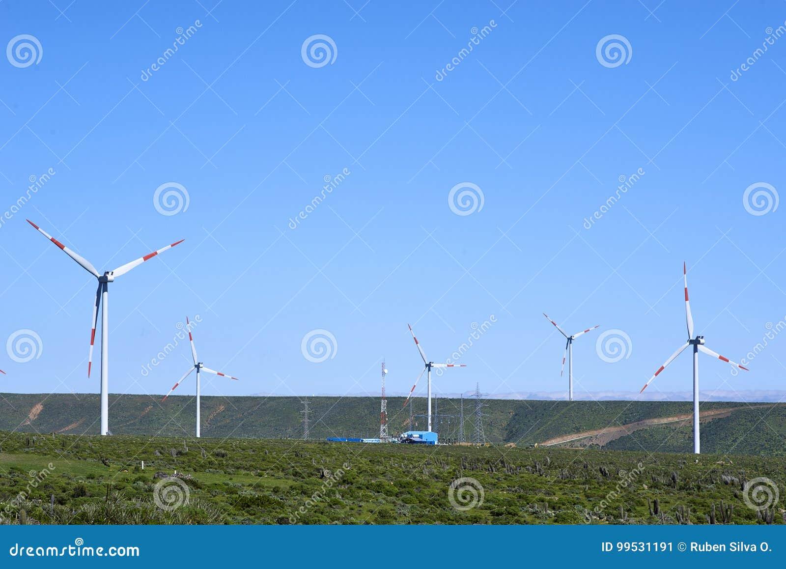 Парк Eolic, технология предпосылки, благоустраивает голубое небо