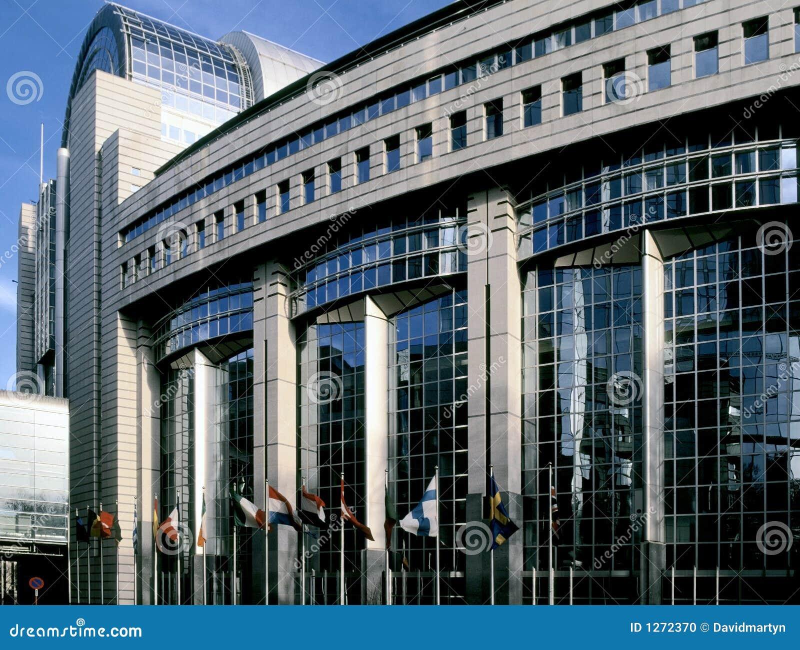 парламент eu здания brussel