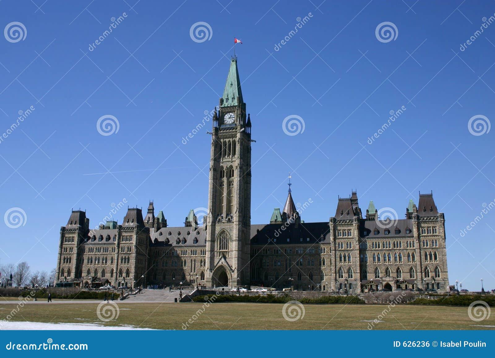 Download парламент s Канады стоковое фото. изображение насчитывающей политическо - 626236
