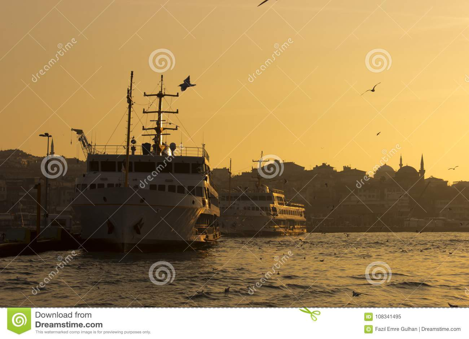 Паромы на порте