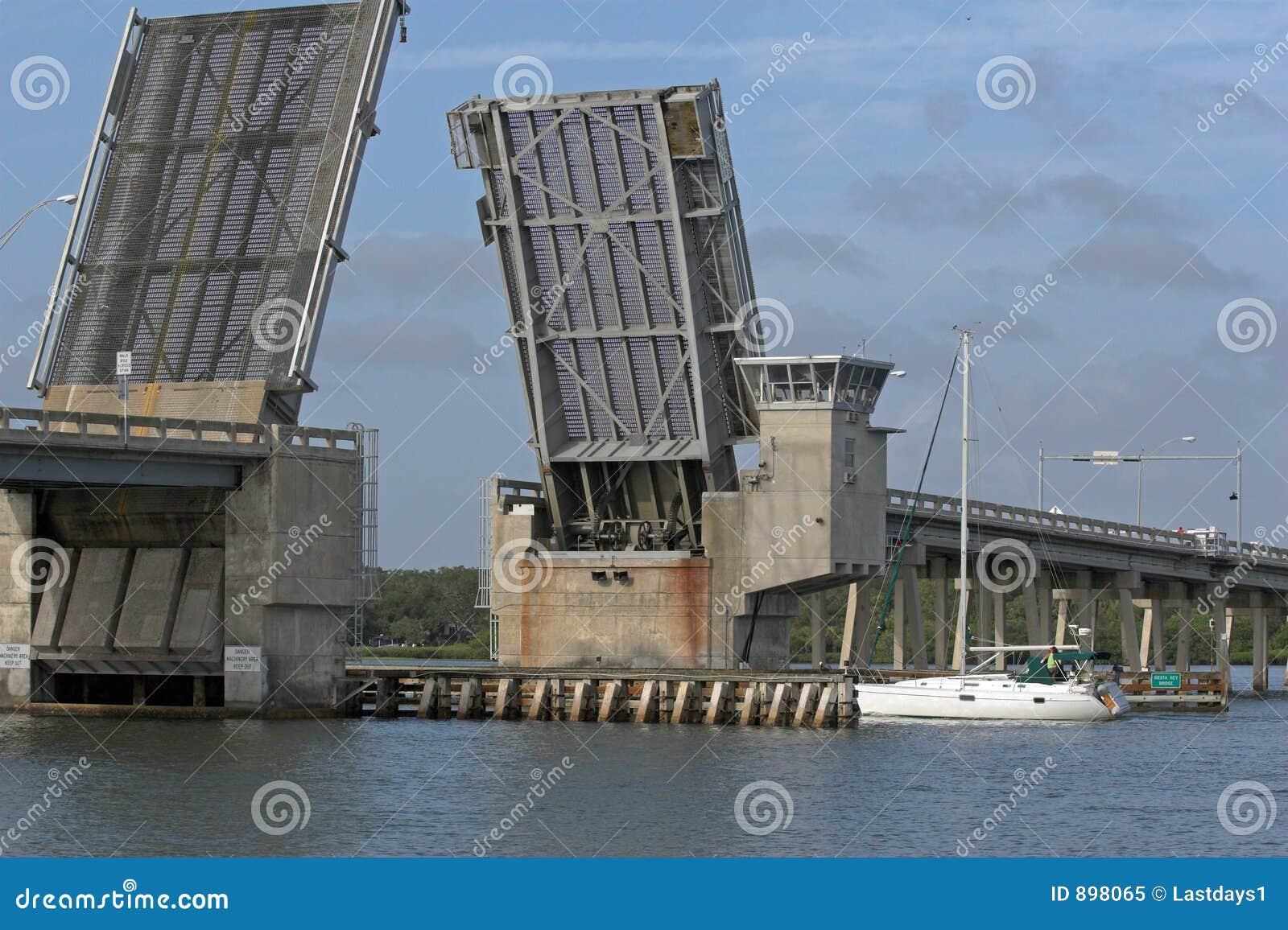 парусник притяжки моста