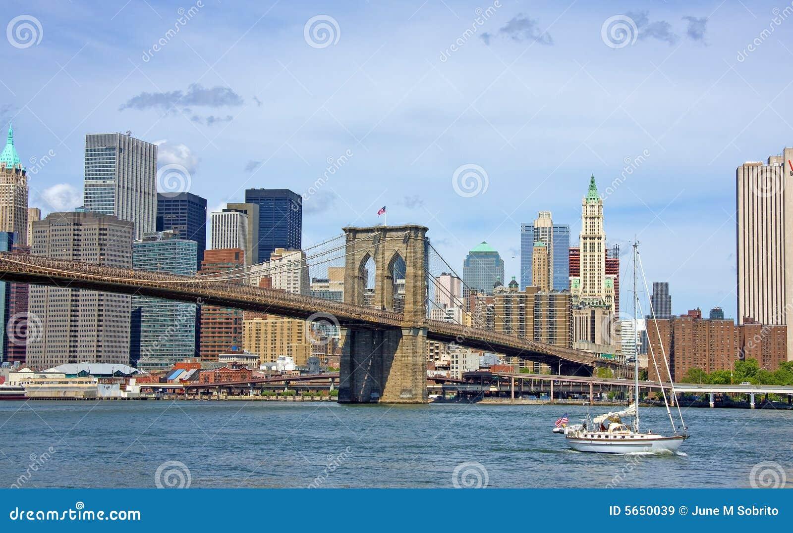 парусник brooklyn моста