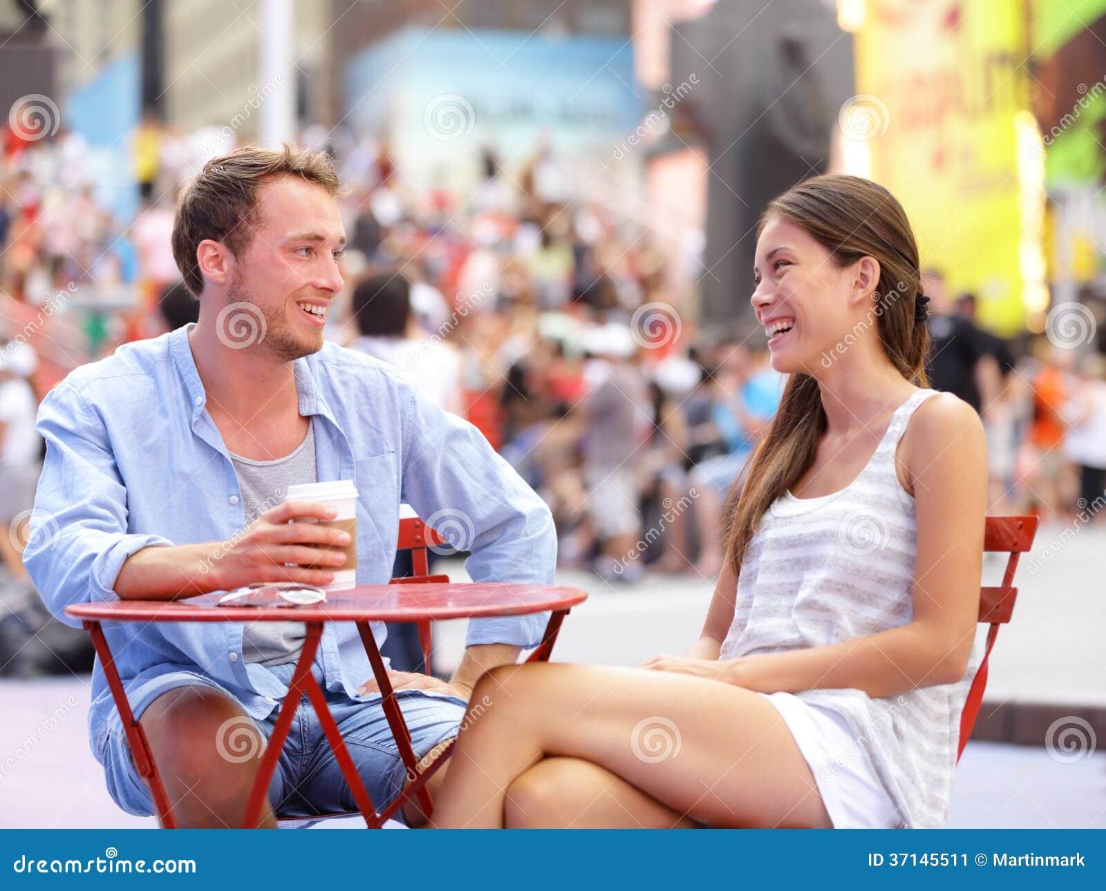 Пары датировка, Нью-Йорк, Манхаттан, Таймс площадь