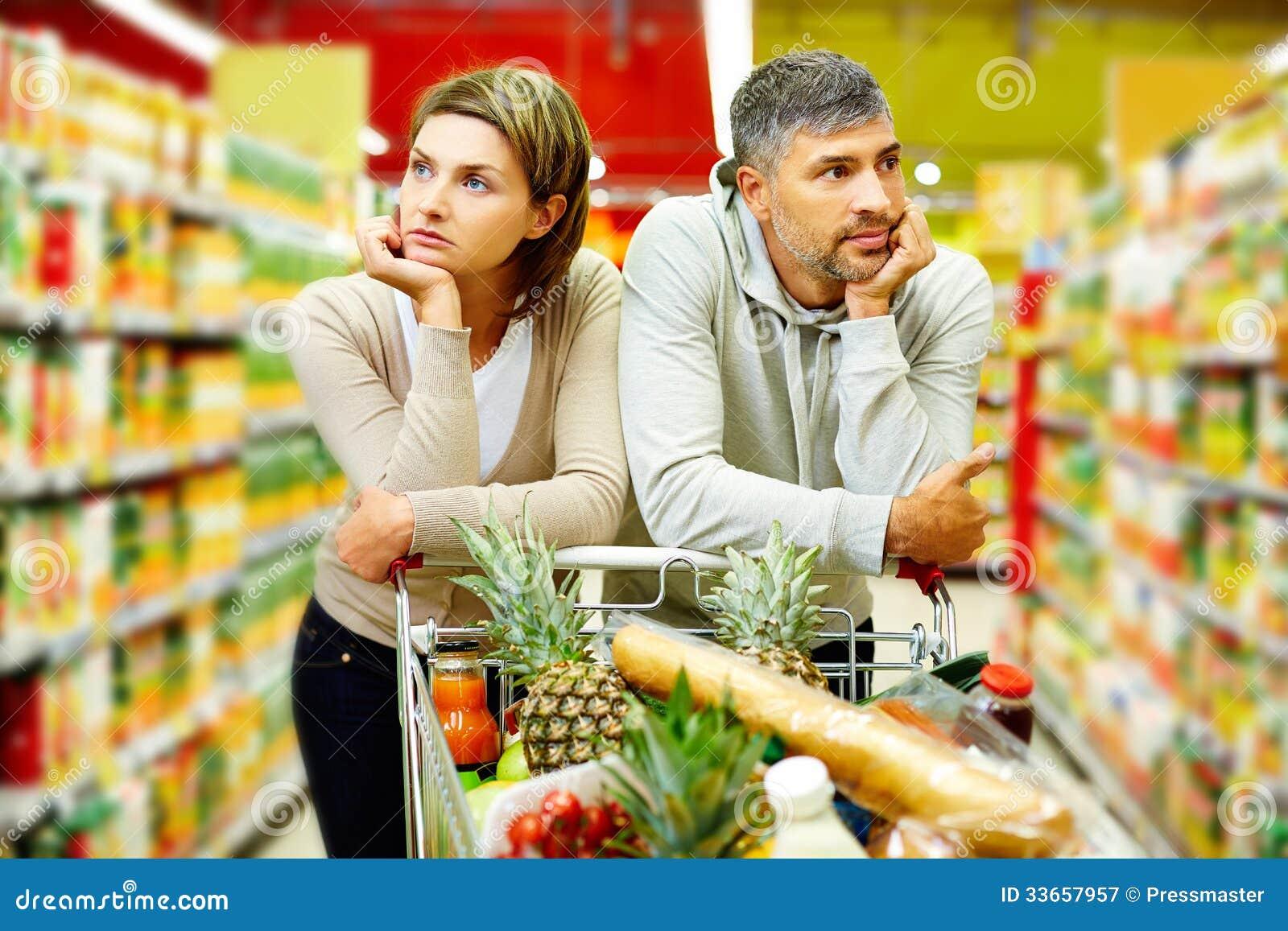 Пары в супермаркете