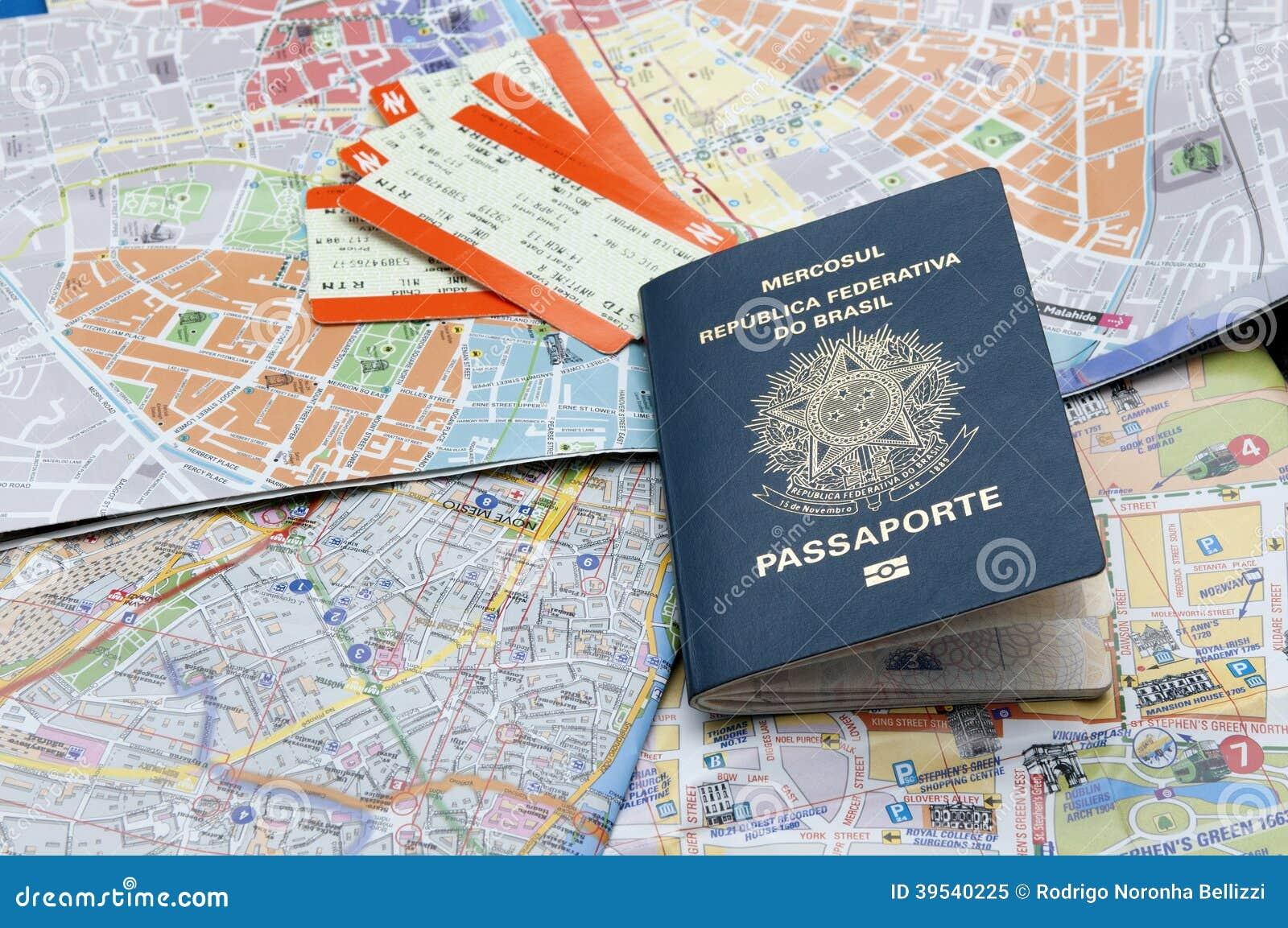 Пасспорт, карты, и билеты
