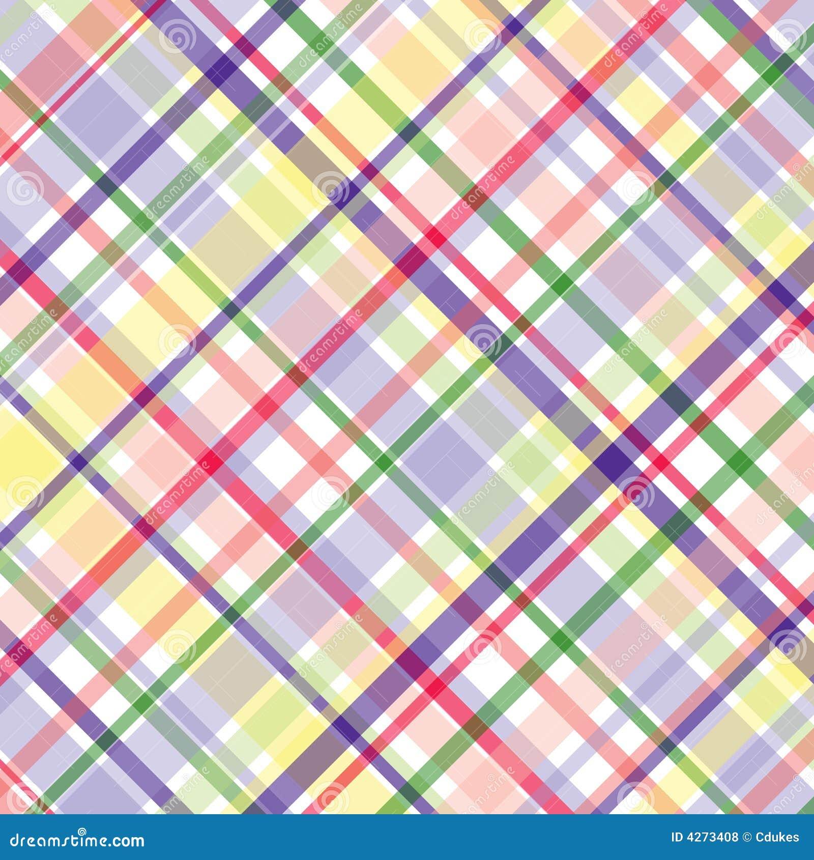 пастельная шотландка