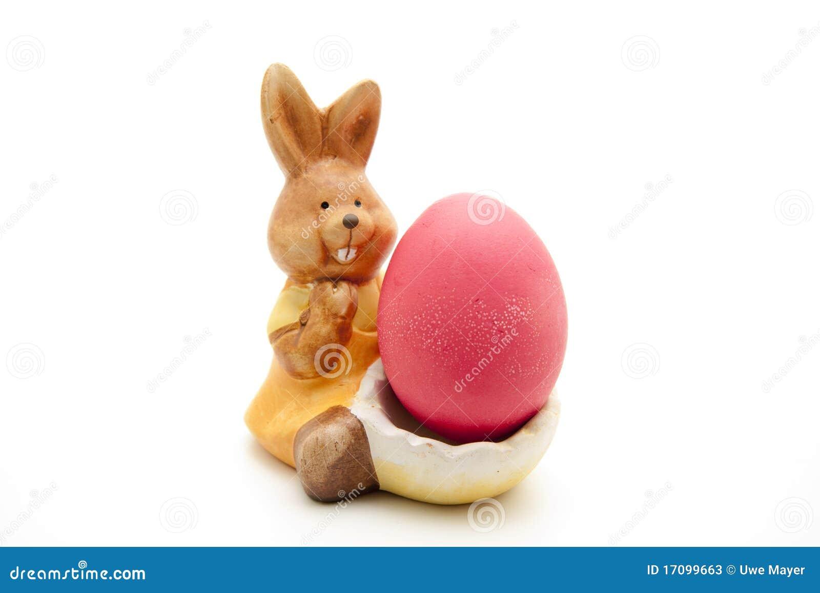 пасхальное яйцо зайчика