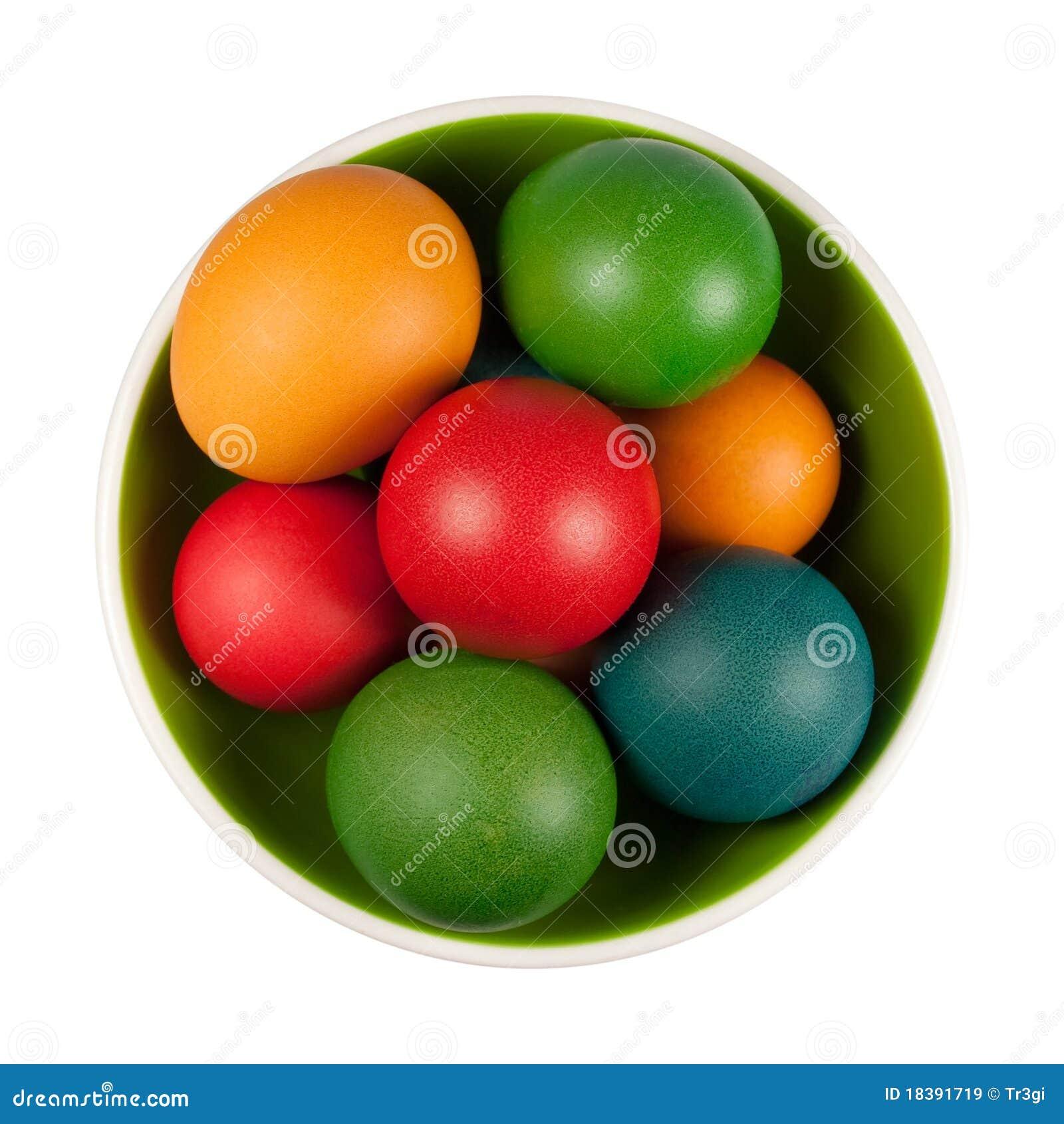 пасхальные яйца пука шара изолировали белизну