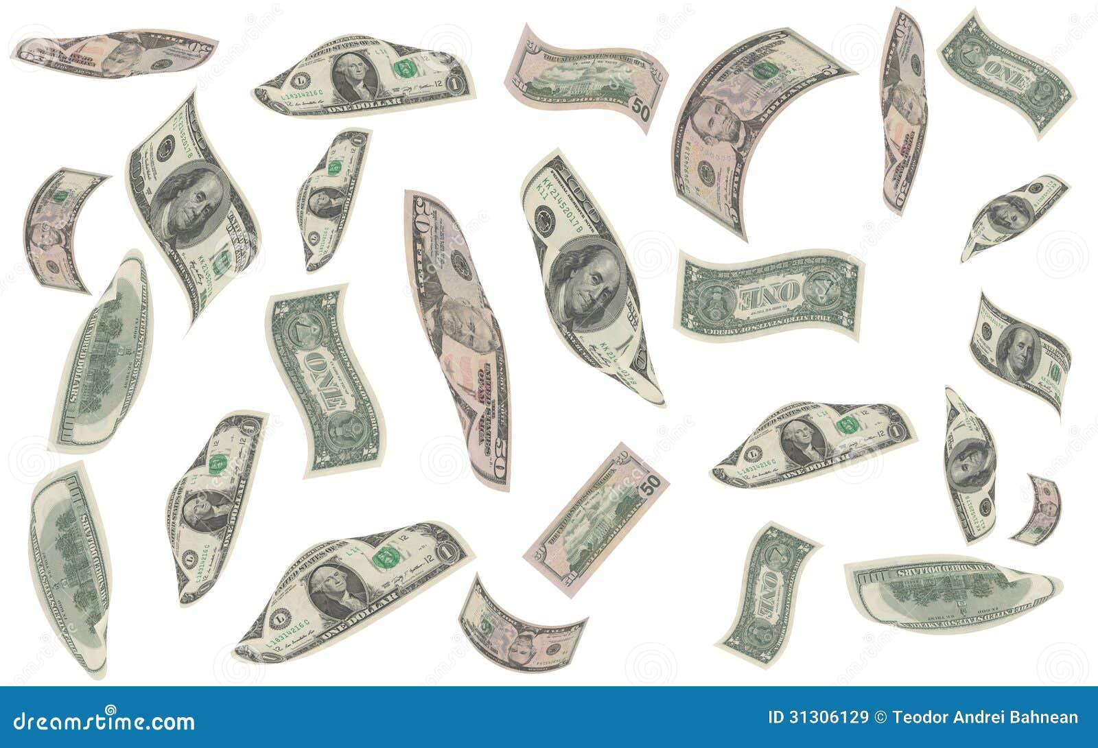 Падение денег