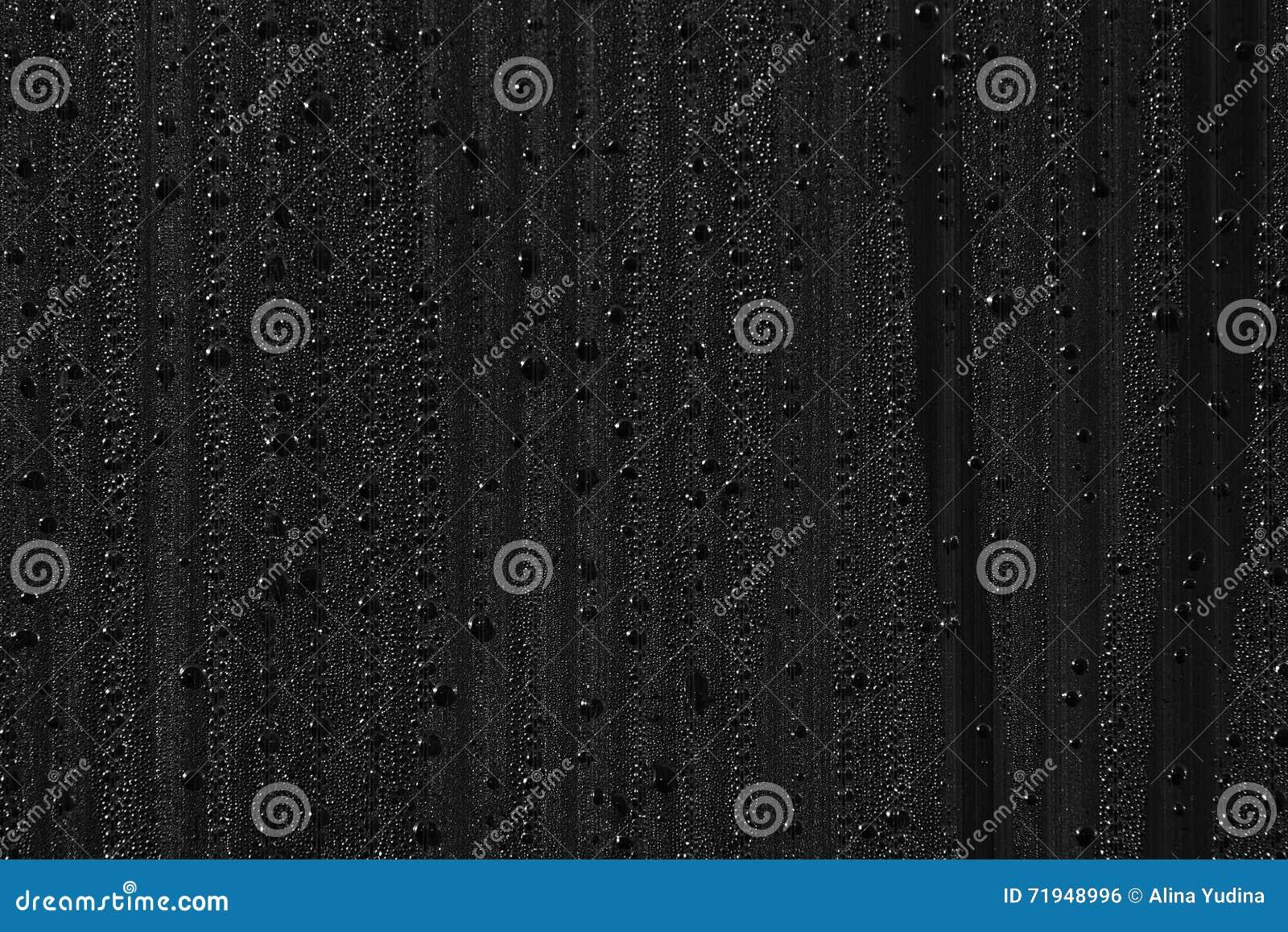 Падения воды на предпосылке конденсатно Черная предпосылка