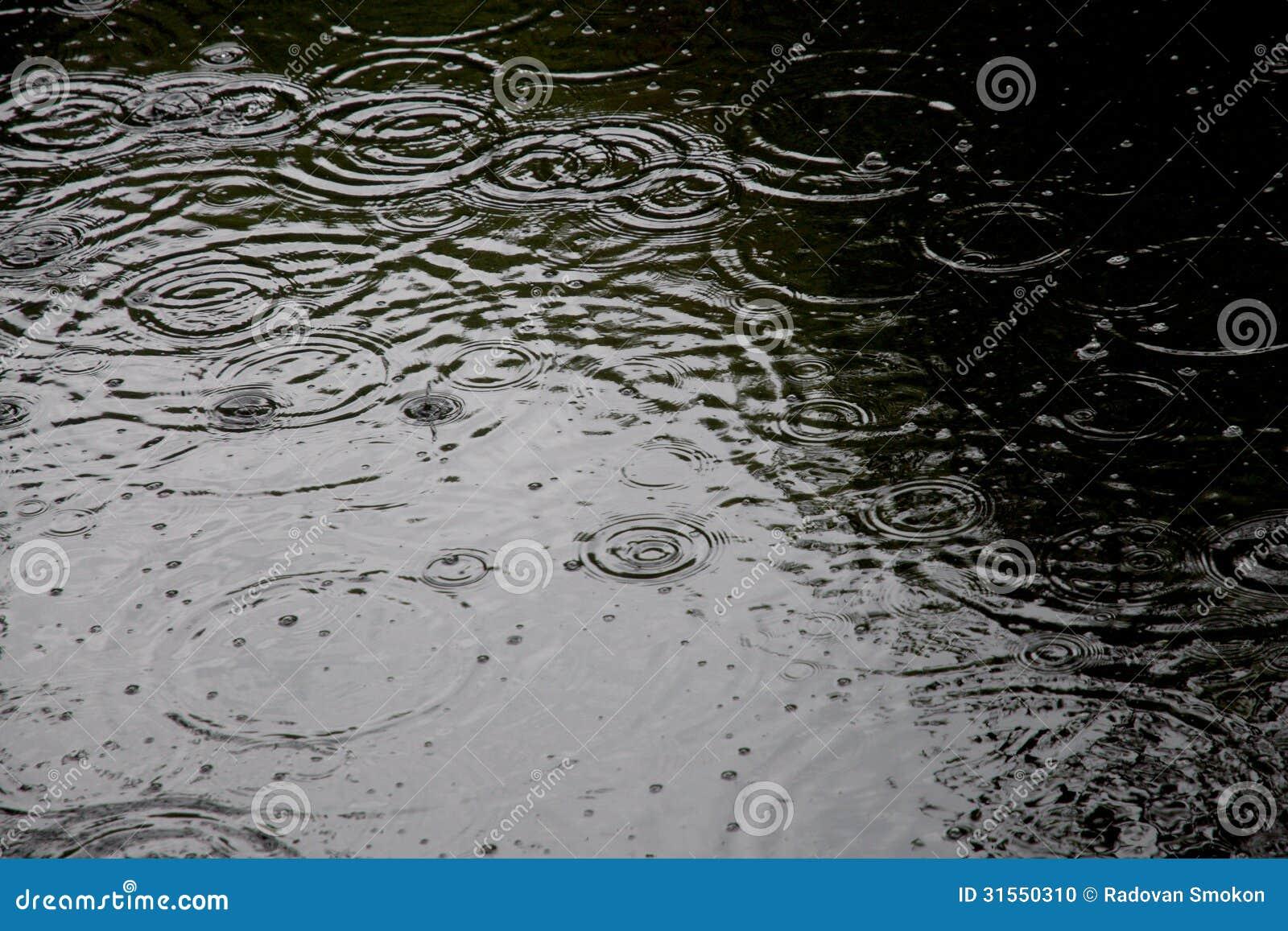 Падения дождя