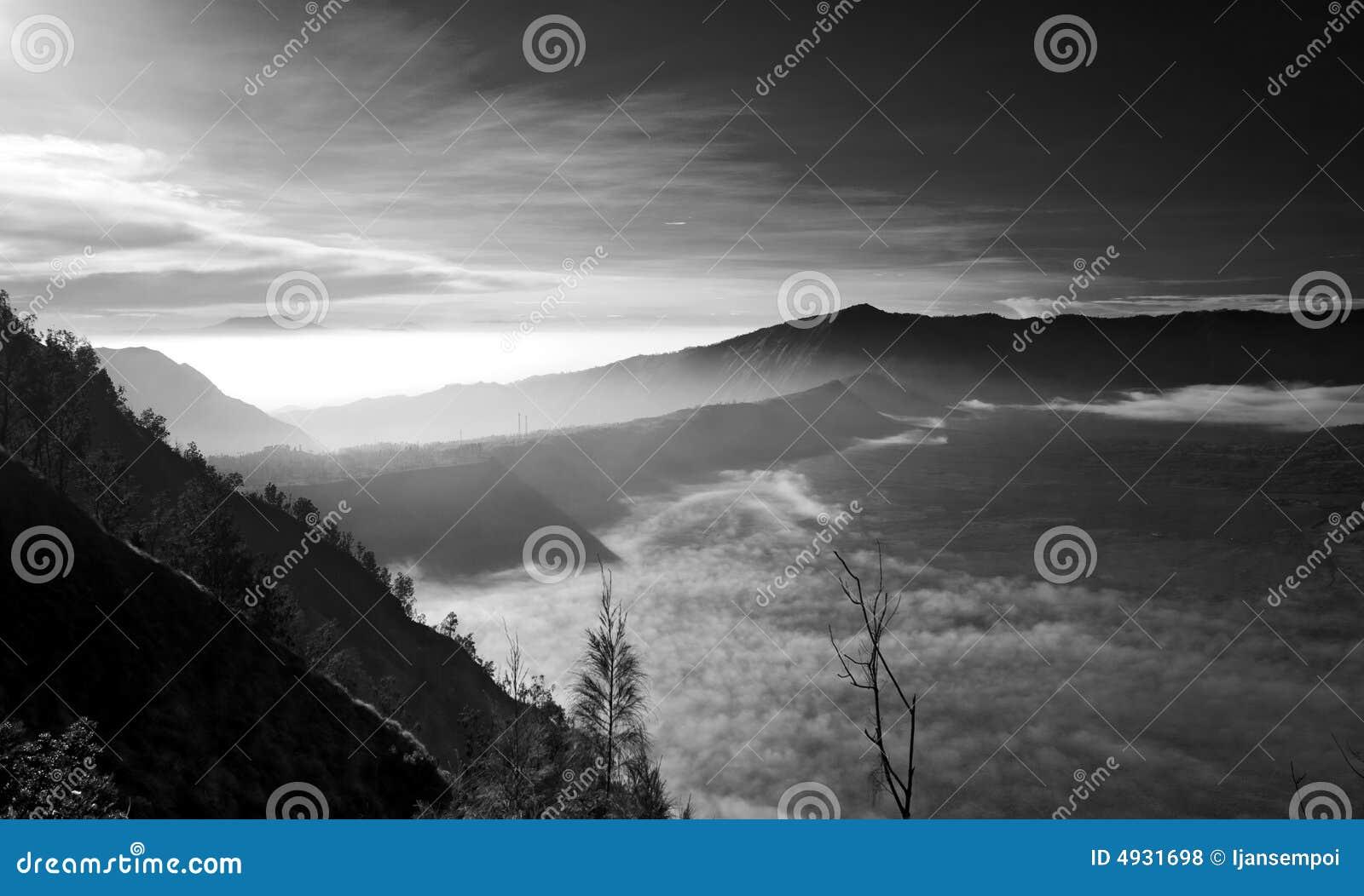 пейзаж горы