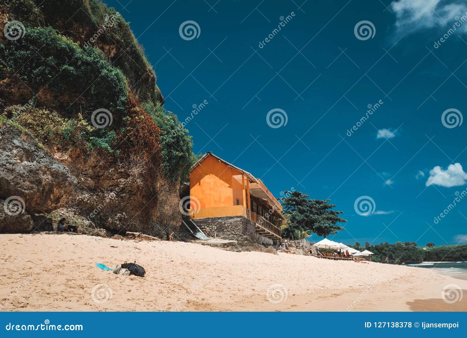 Пейзаж пляжа Бали
