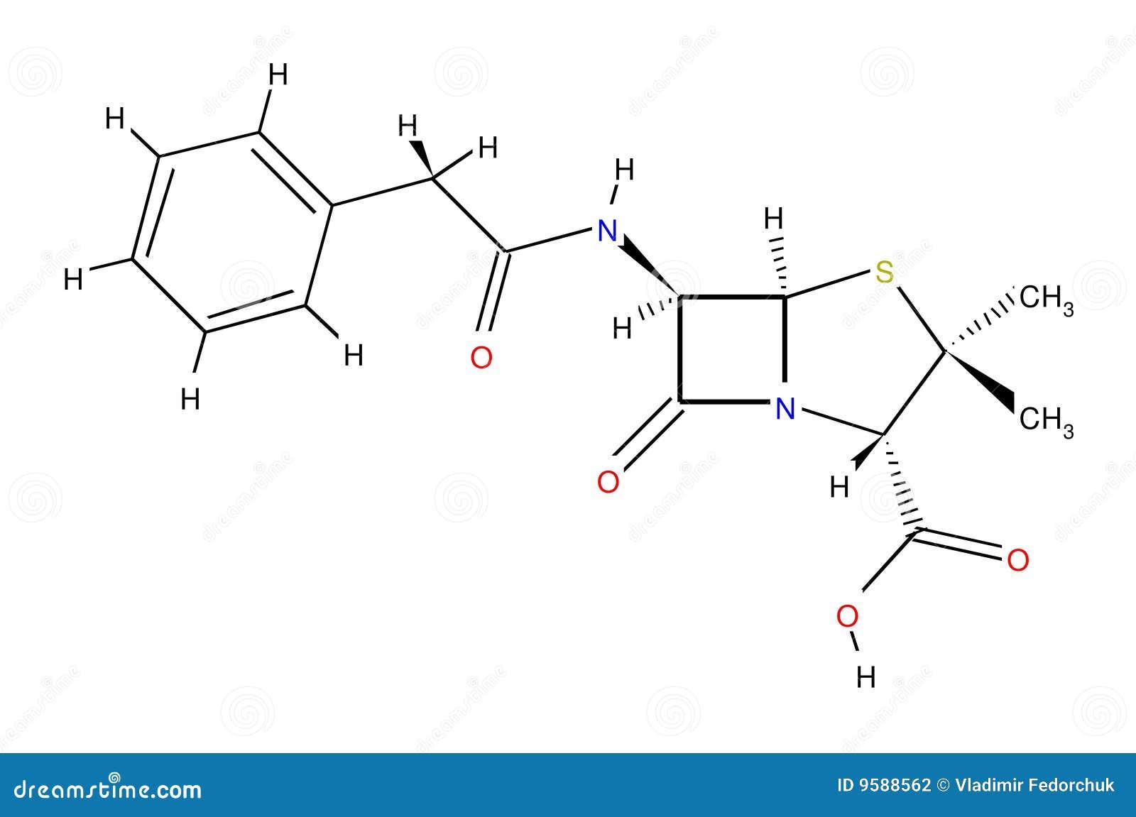 пенициллин формулы структурный