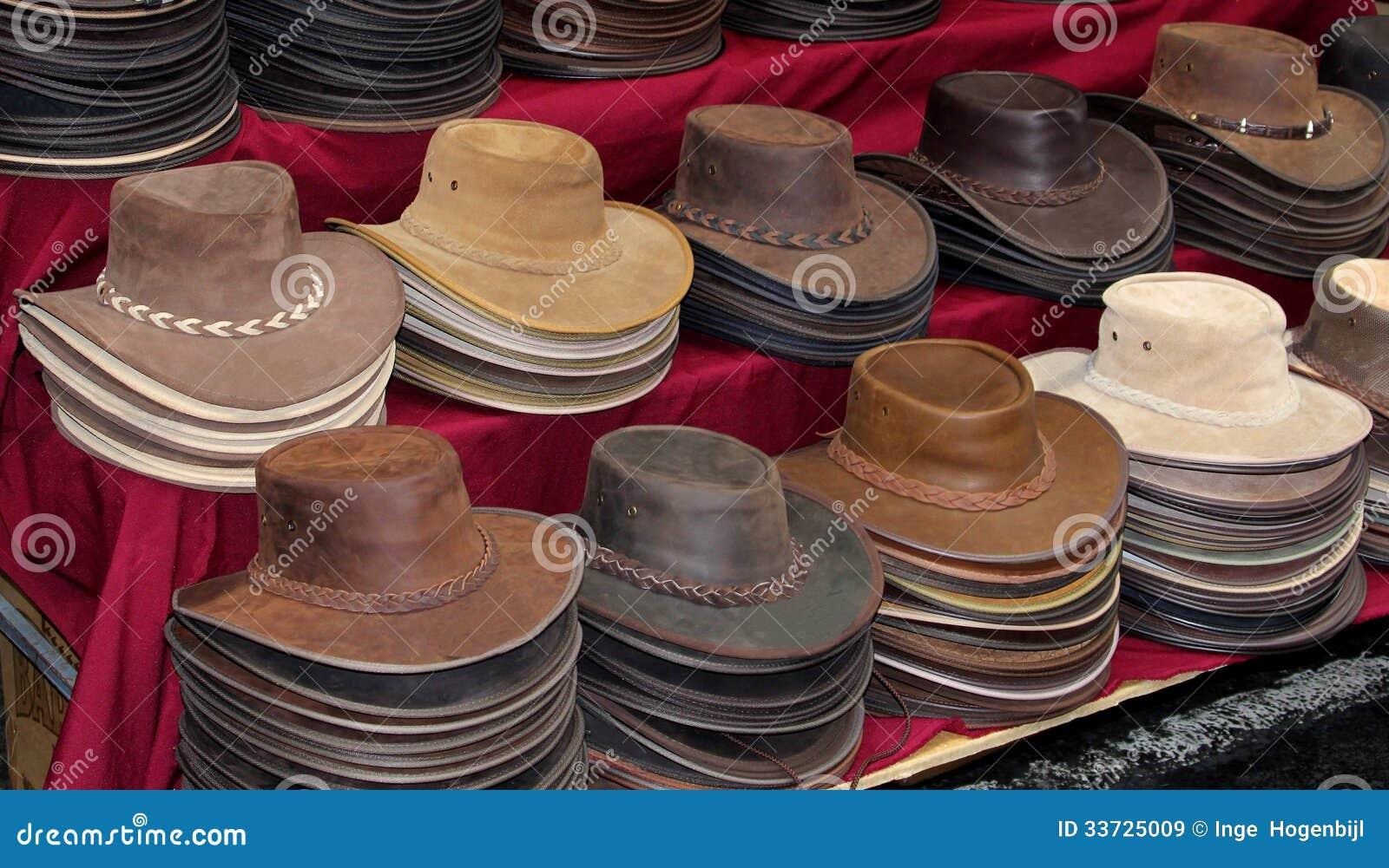 Первоначально кожаные шляпы в Австралии