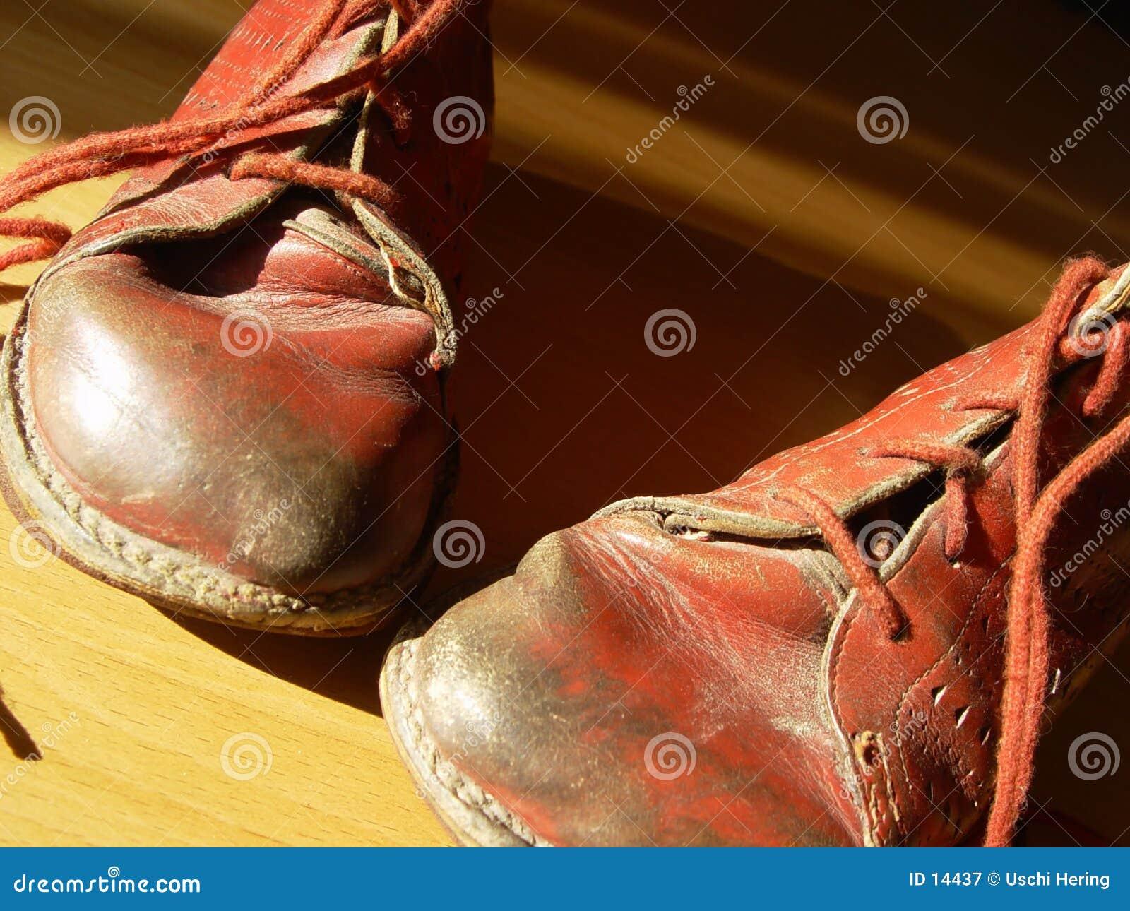 первые ботинки