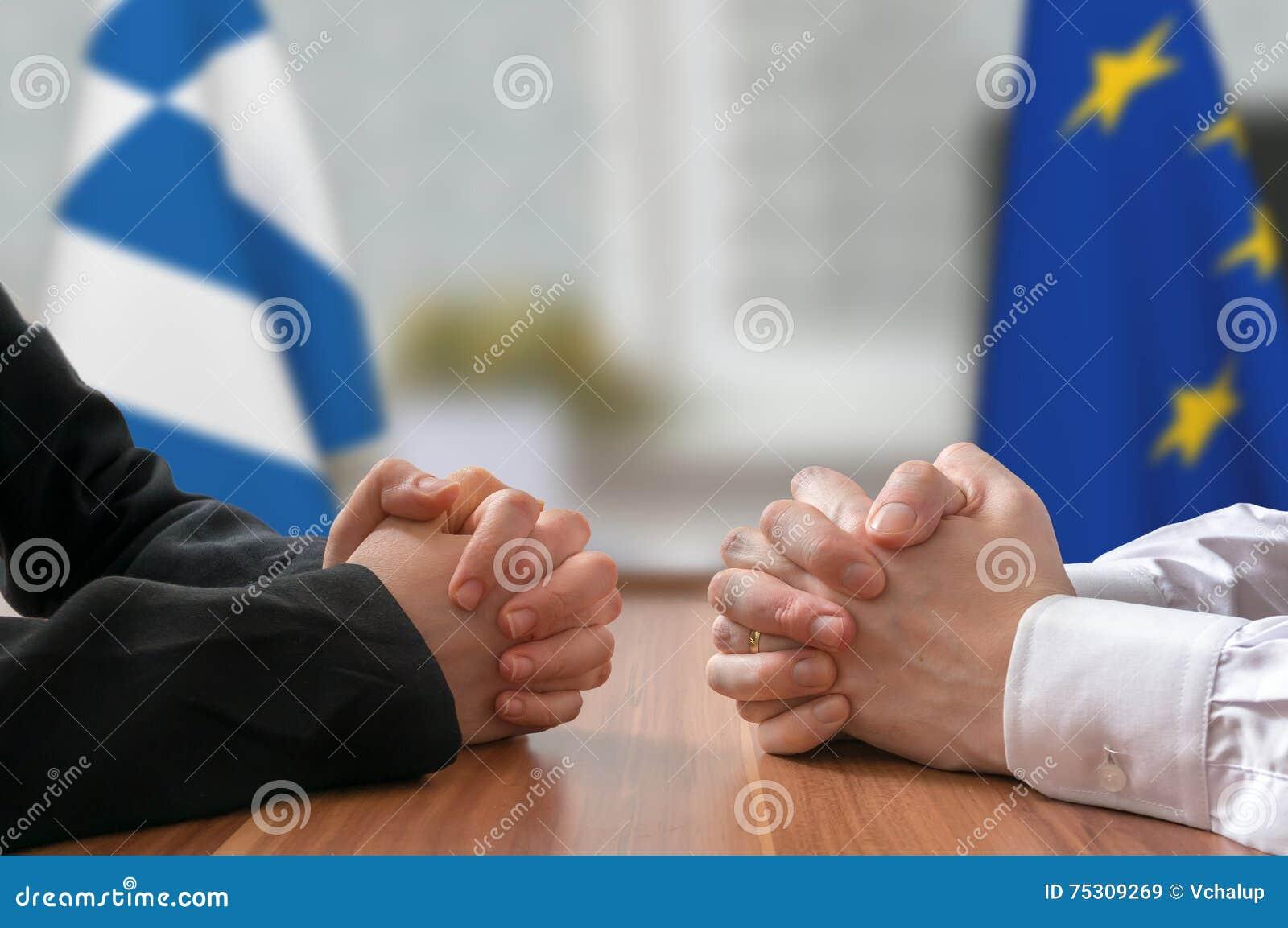 Переговоры Греции и Европейского союза Государственный деятель или политики