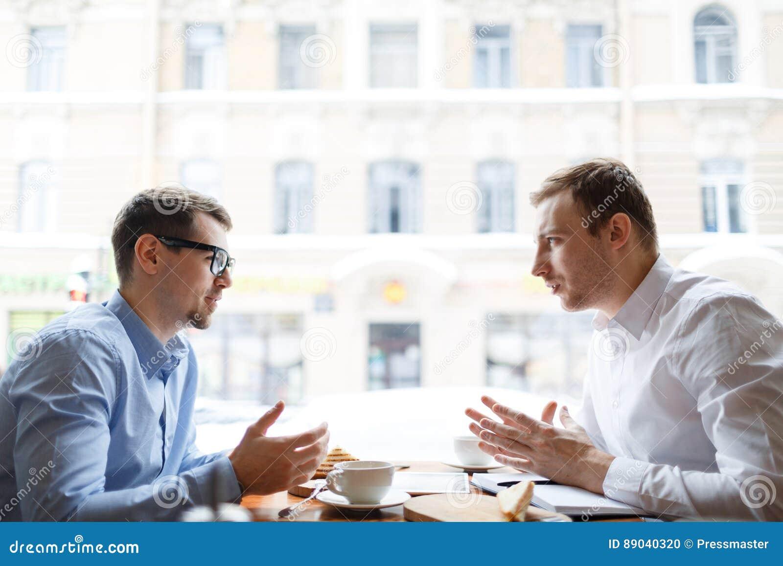 Переговор сотрудников