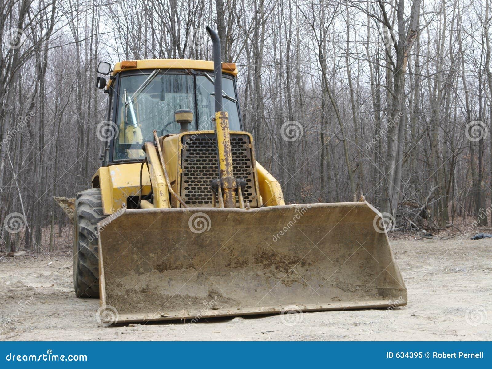 Download передний затяжелитель стоковое изображение. изображение насчитывающей excavate - 634395