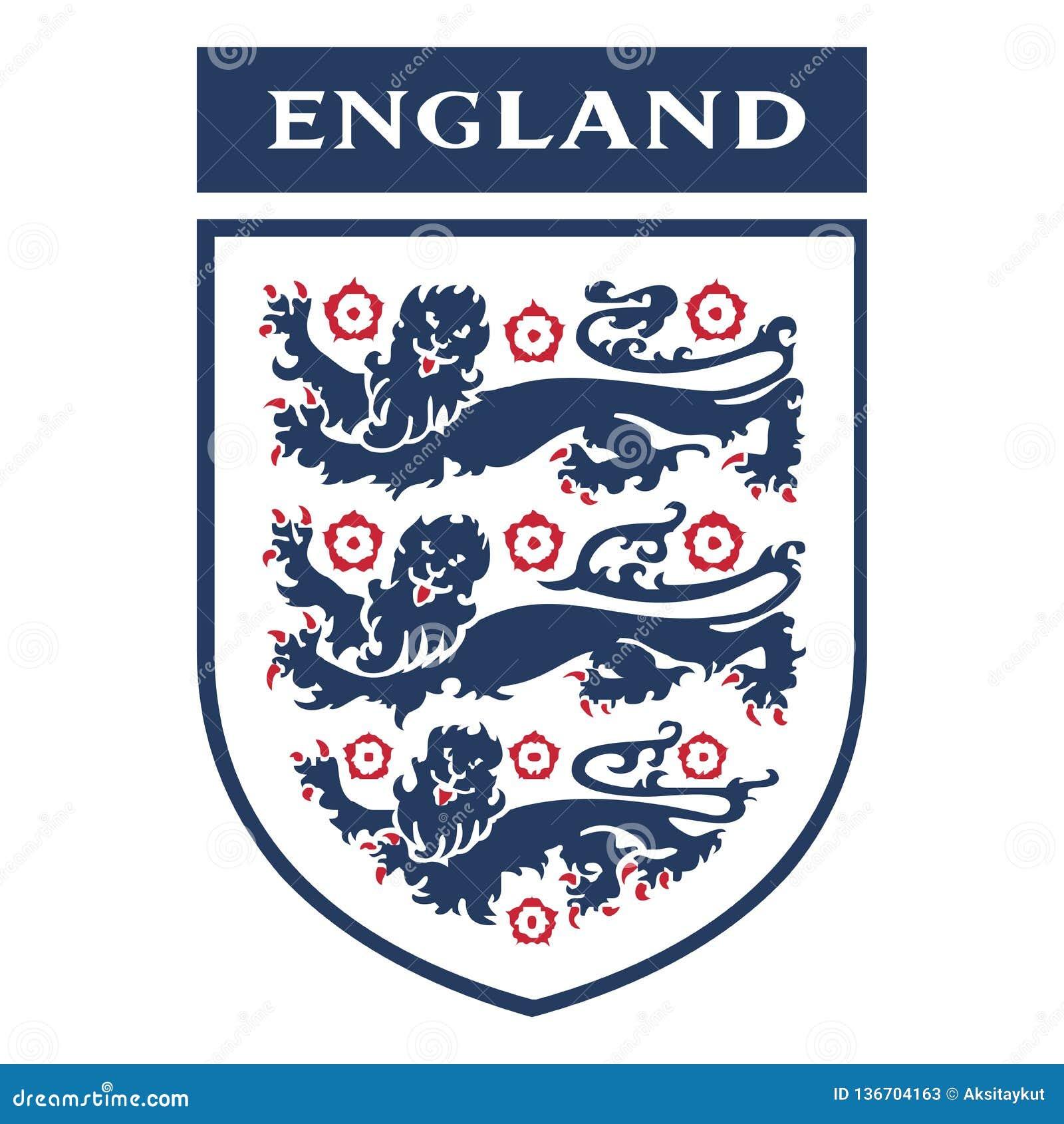Логотип англии по футболу