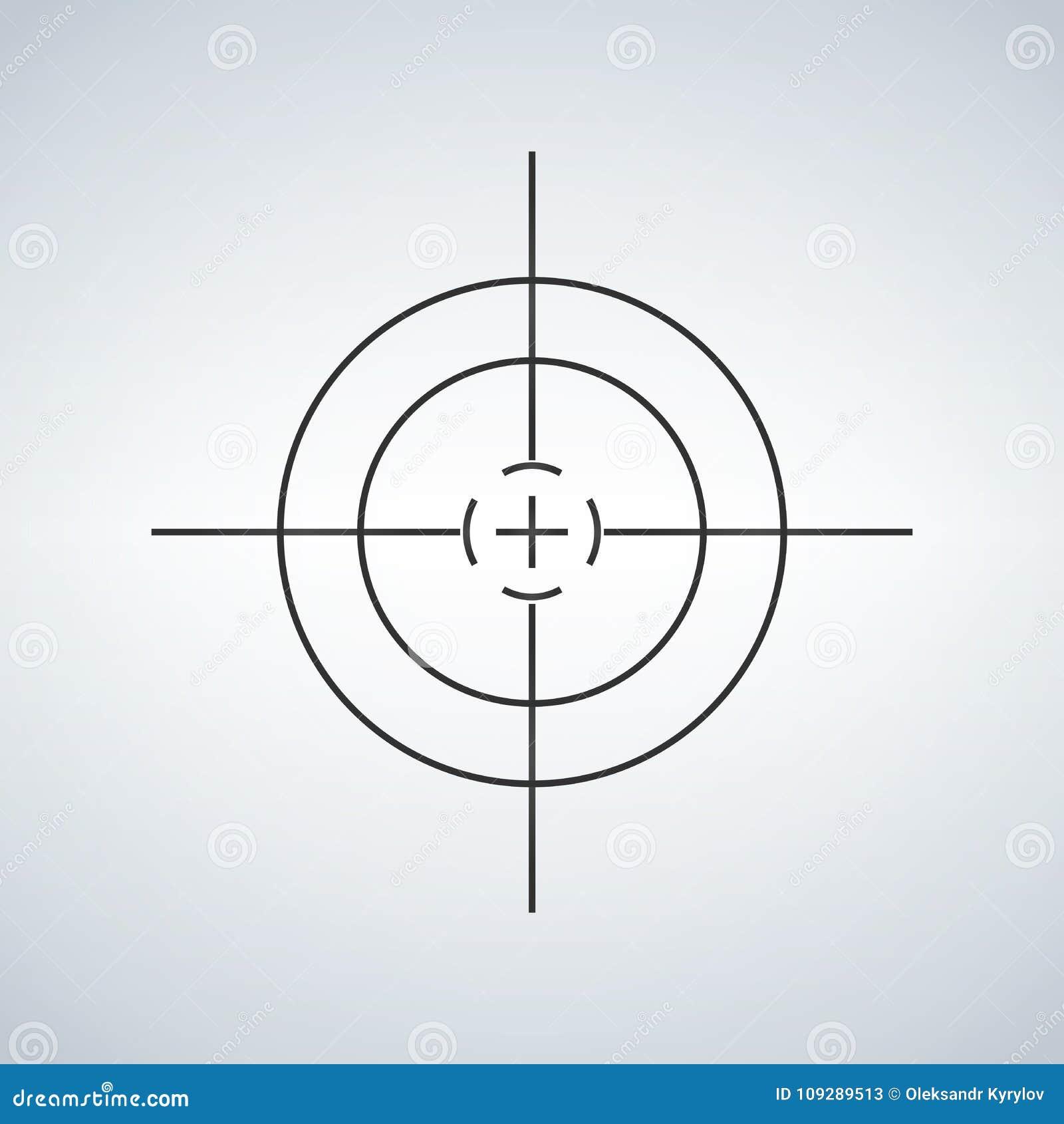 Перекрестие, перекрещение, видоискатель, графики цели
