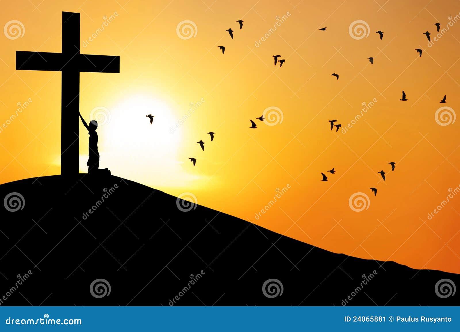 перекрестное поклонение человека