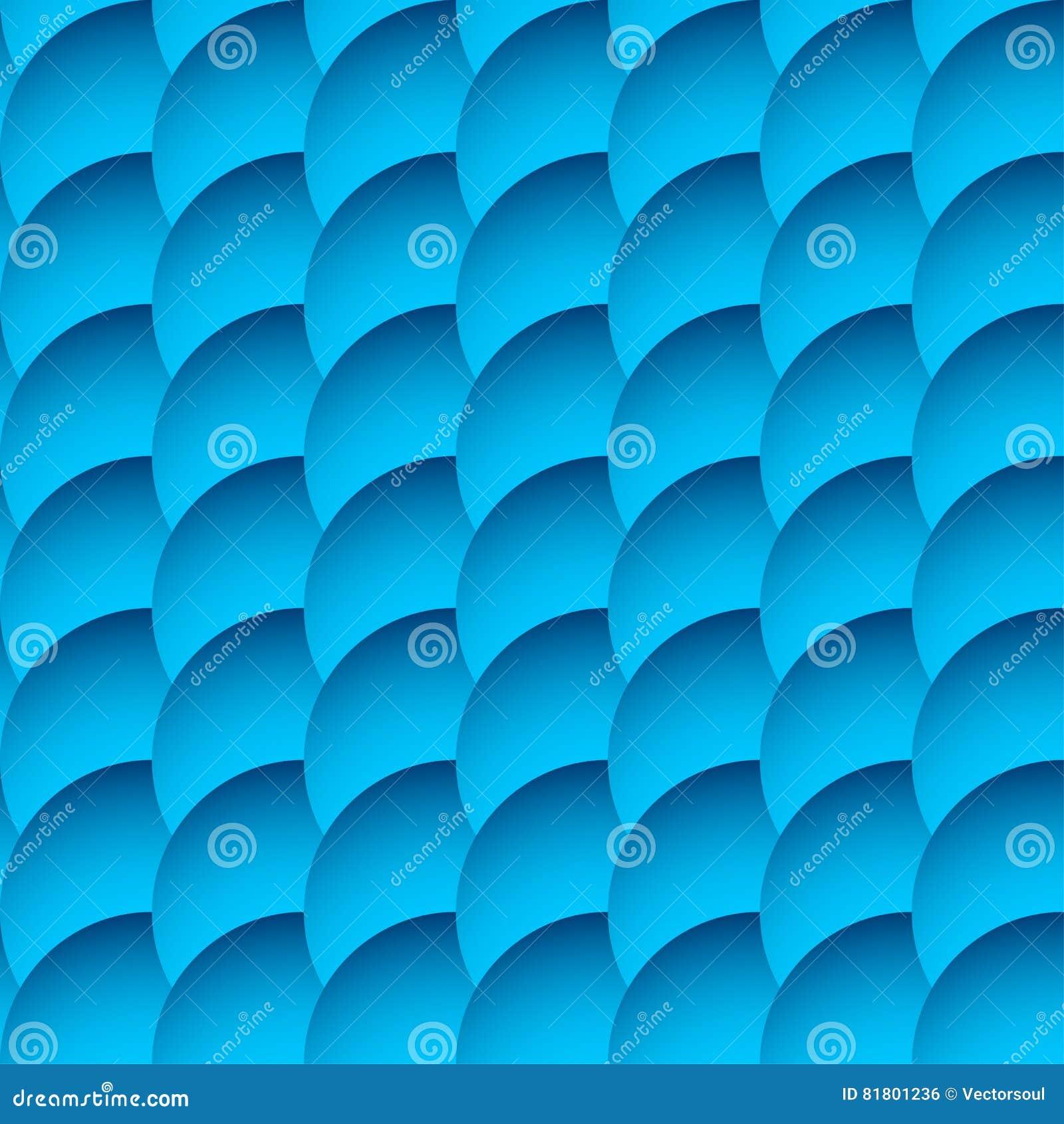 Перекрывая картина кругов безшовная, monochrome предпосылка Sha