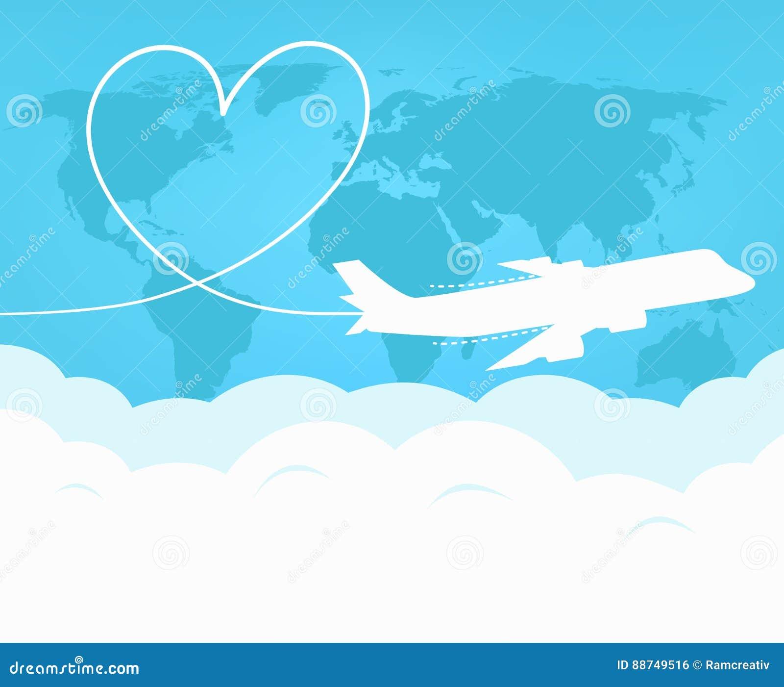 Перемещение и туризм по всему миру самолетом