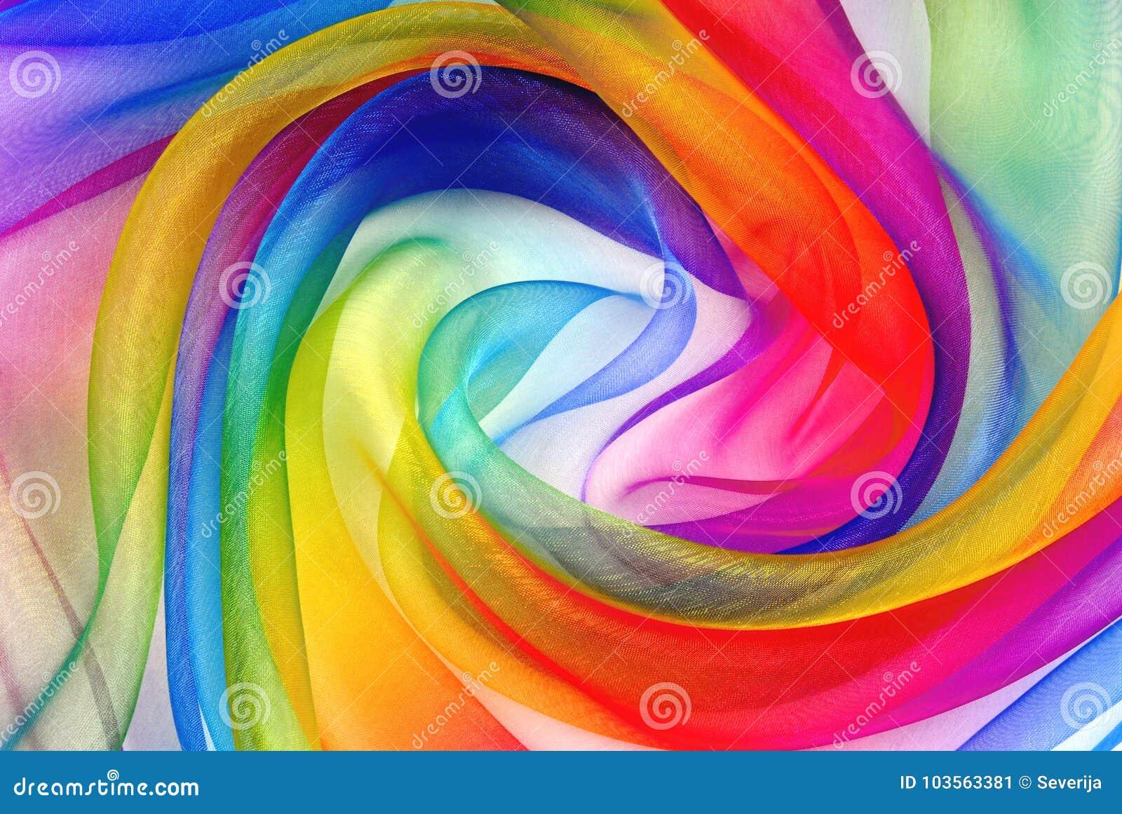Переплетенный twirl ткани organza