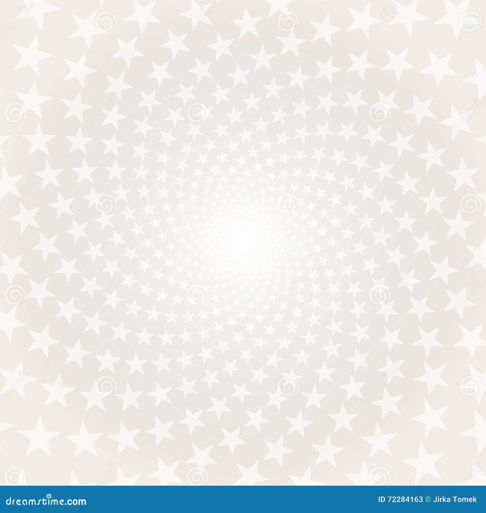 Download Переплетенная спираль звезд Белая & серая абстрактная предпосылка Иллюстрация вектора - иллюстрации насчитывающей отрезок, американская: 72284163