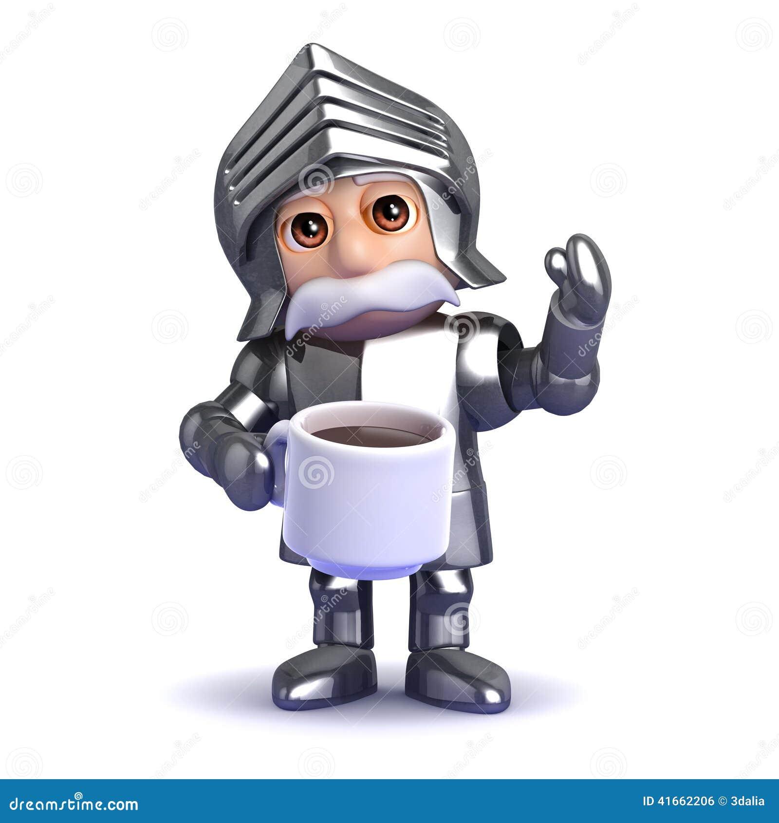 перерыв на чай рыцаря 3d
