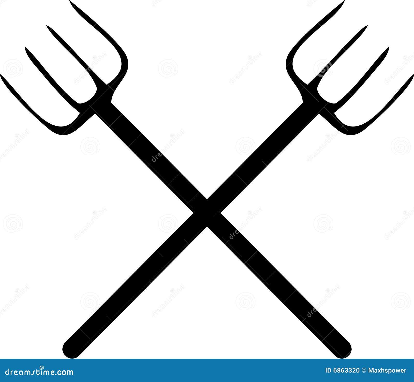 пересеченный pitchfork muckrake