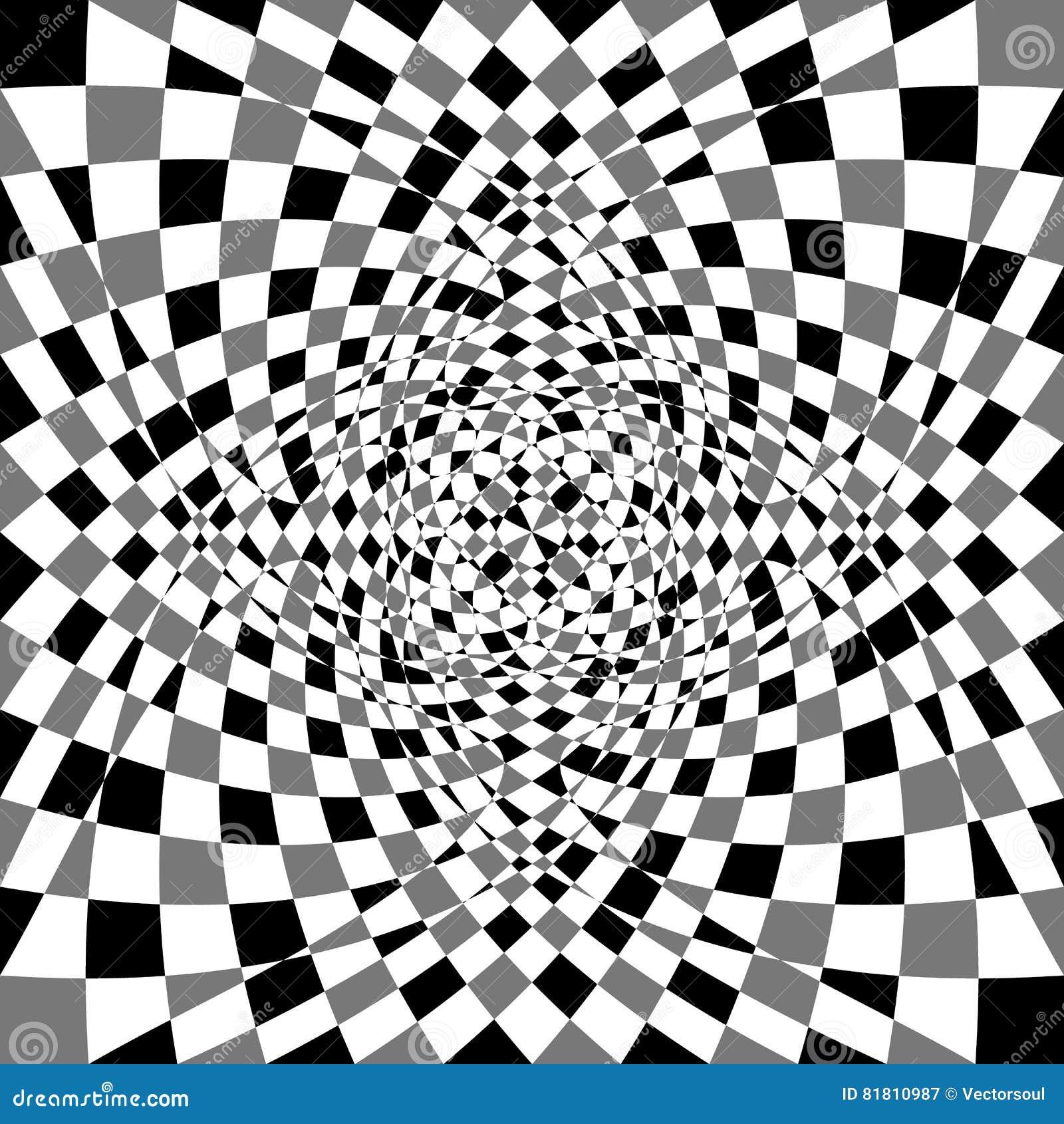 Передернутая, деформированная несимметричная текстура Tessellating грубое, нервный