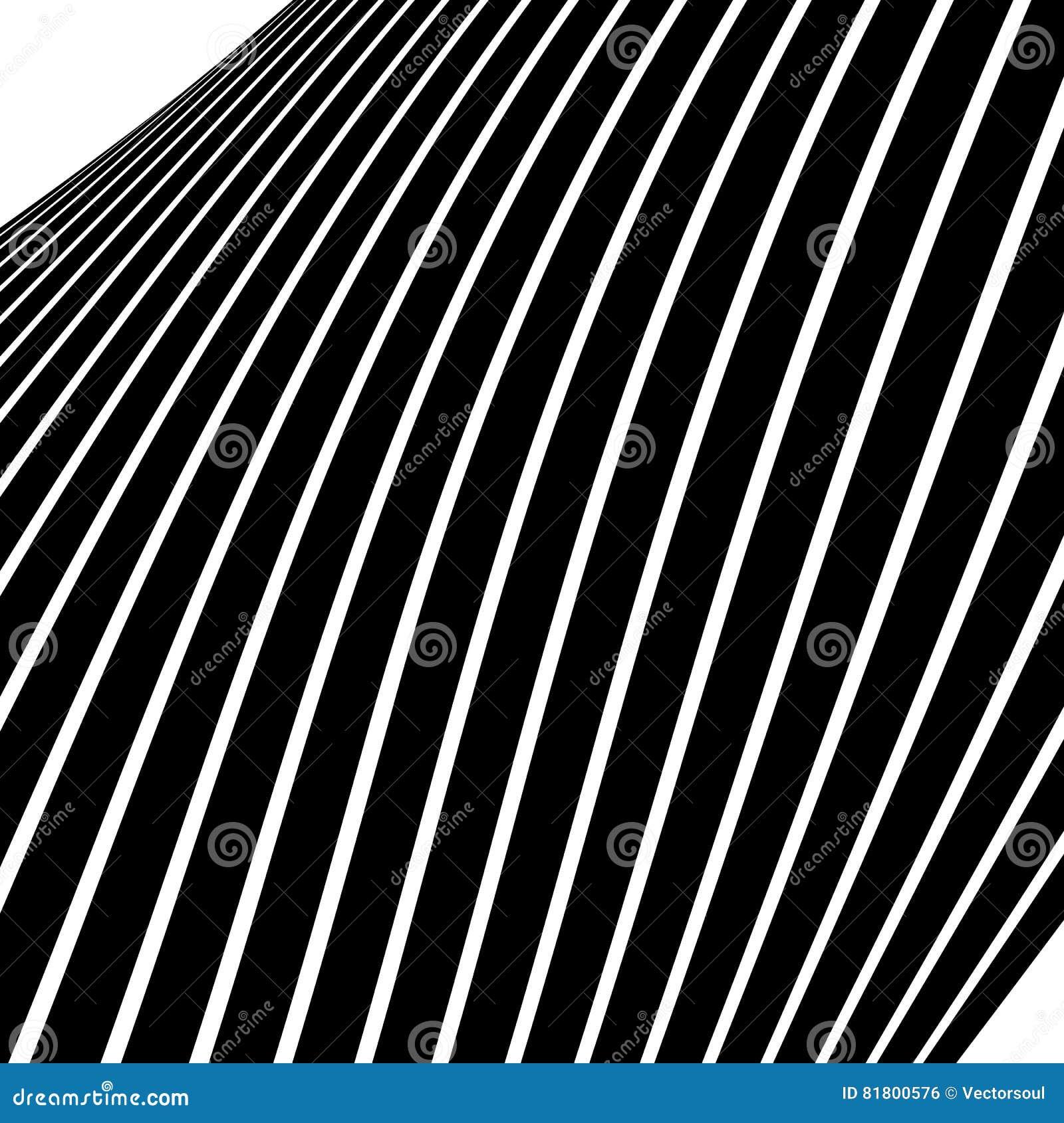Передернутые, снованные линии геометрическая monochrome картина Чернота и