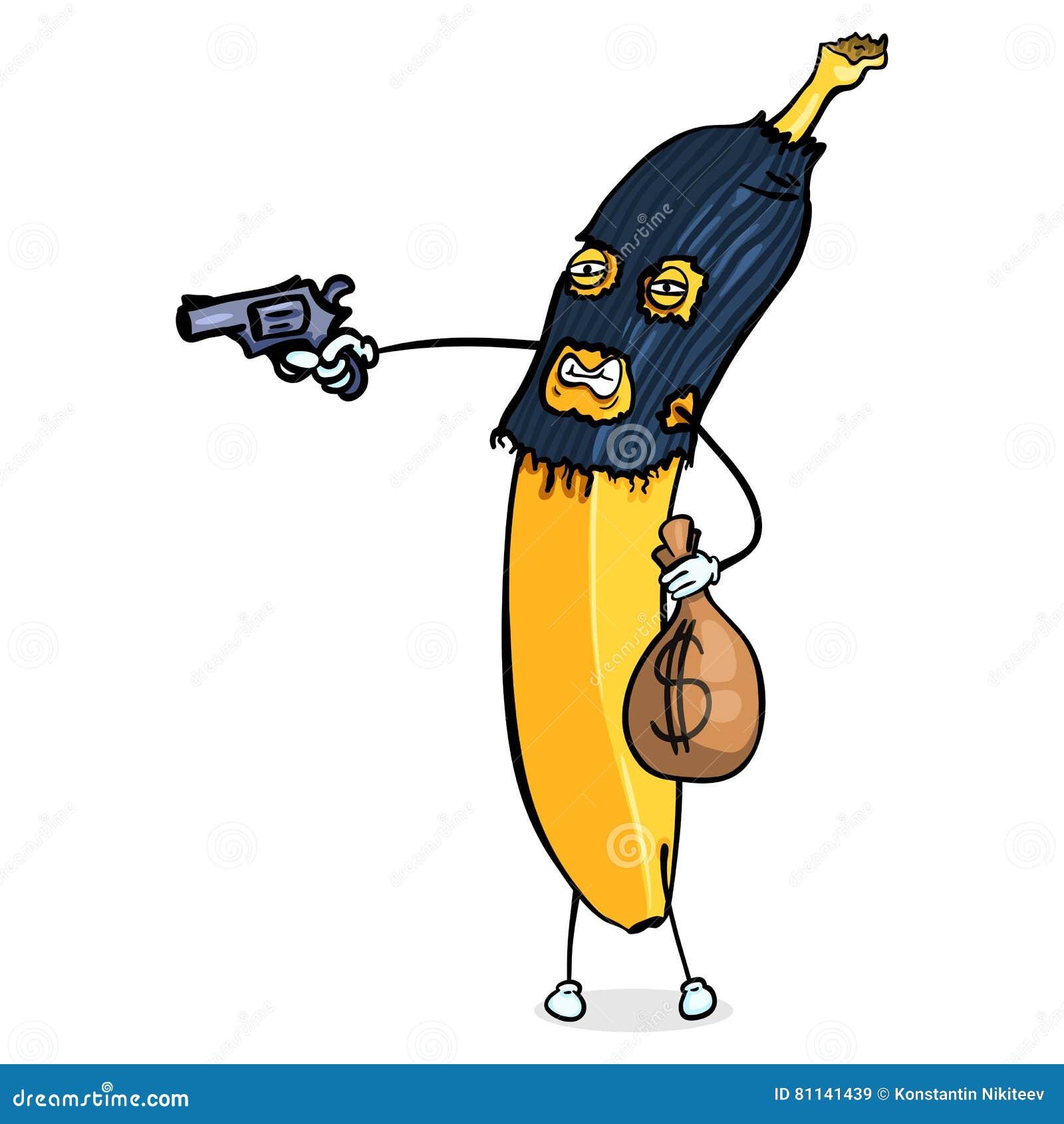 Картинки банана с оружием