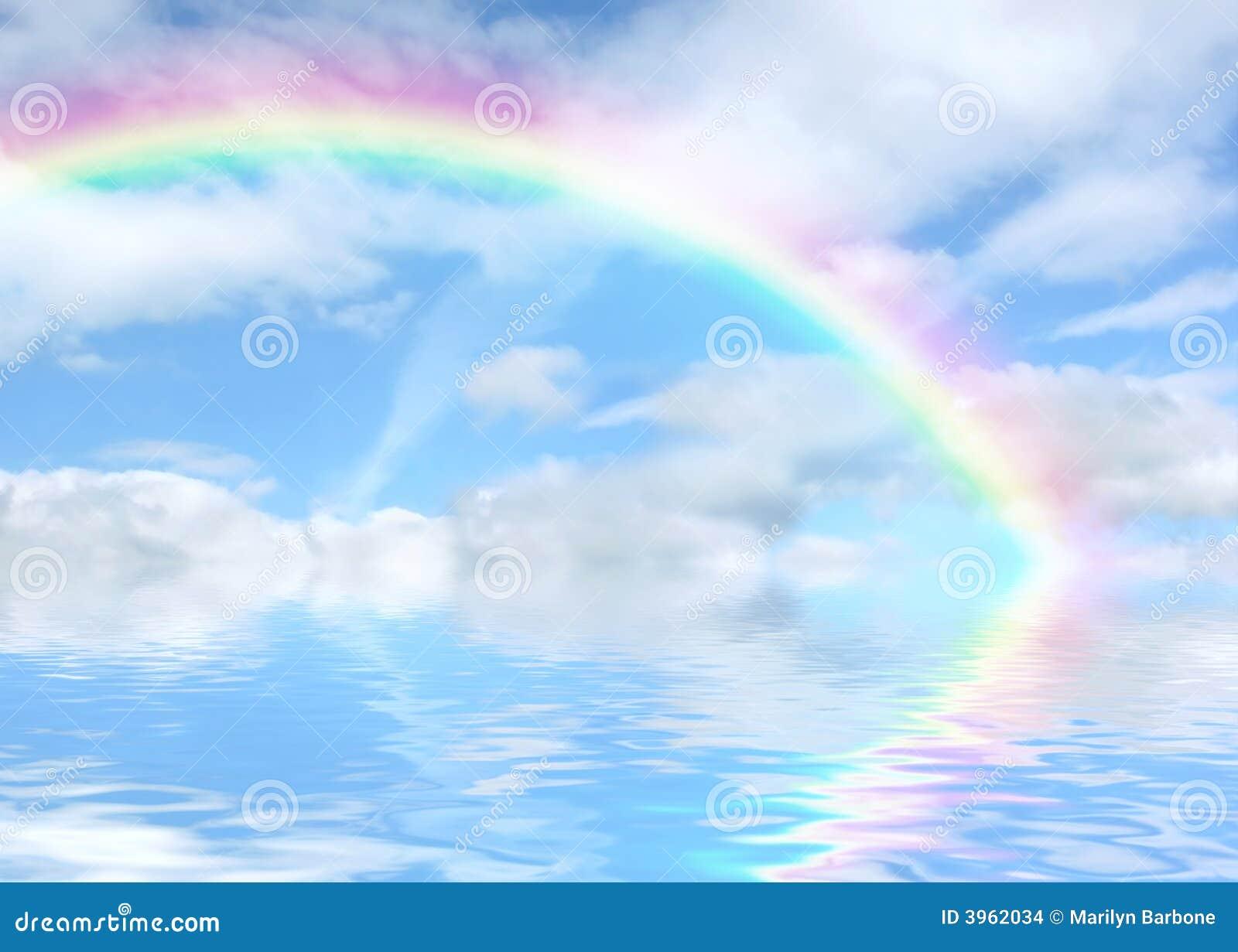 перспектива радуги