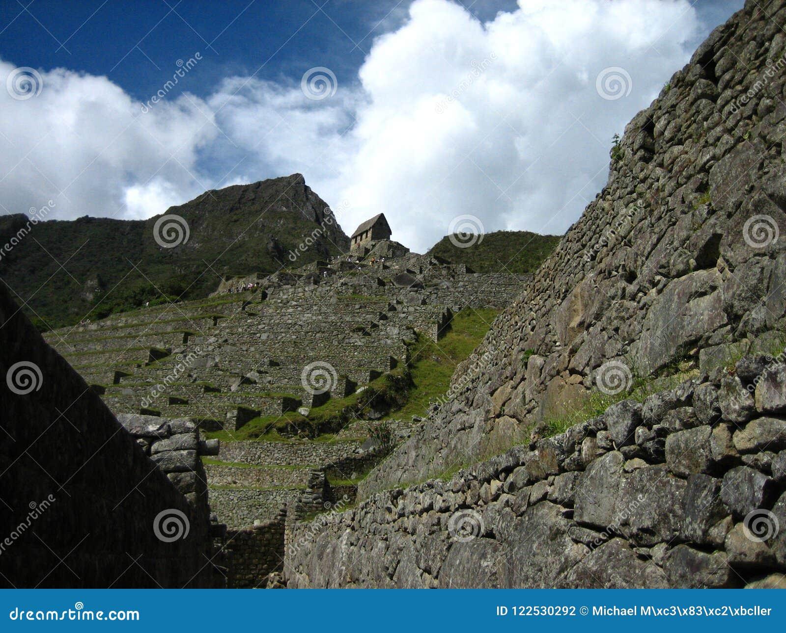 Перу: Machu Pichu, всемирное наследие ЮНЕСКО в Andines