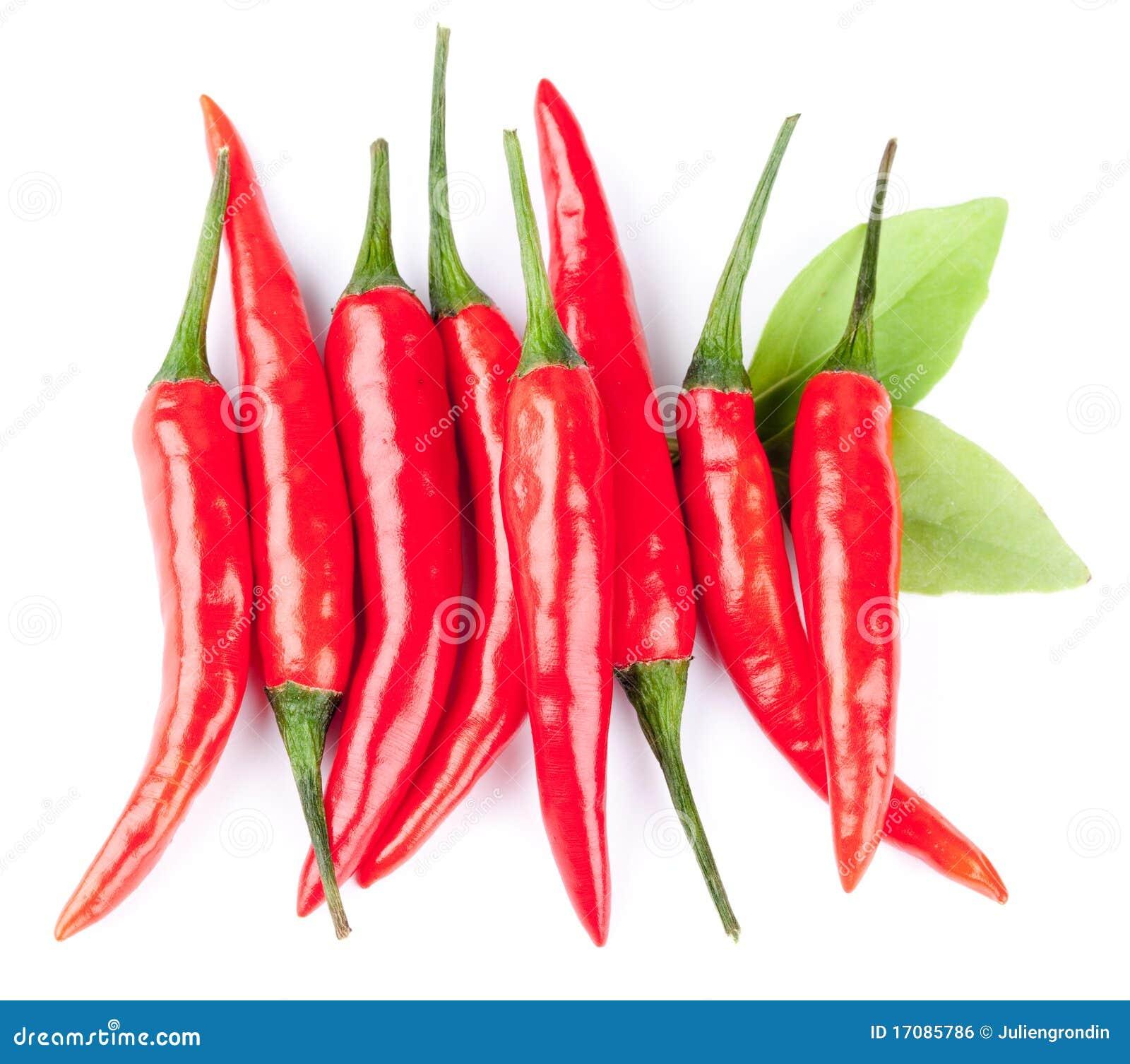 перцы chili горячие красные