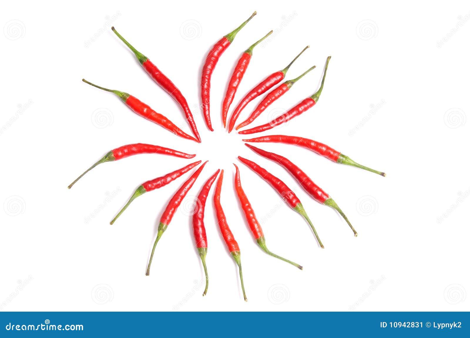 перчит красный цвет нескольк белизна