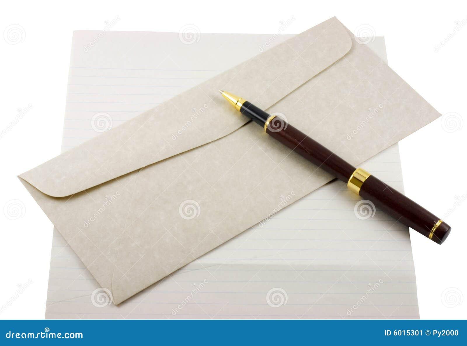 пер бумаги письма габарита